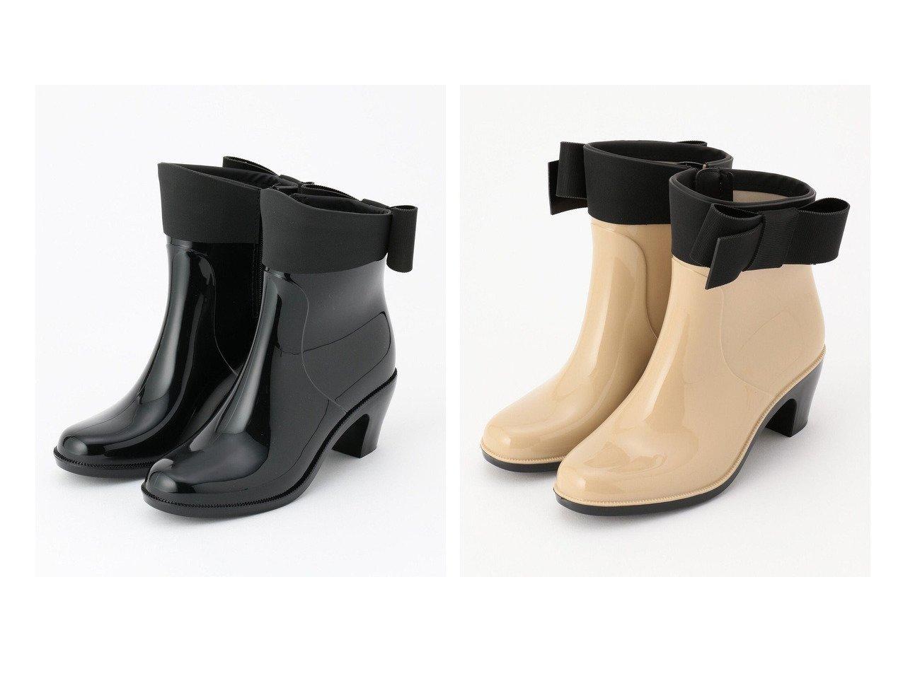 【TOCCA/トッカ】のRAIN BOOTS レインシューズ&RAIN BOOTS レインブーツ 【シューズ・靴】おすすめ!人気トレンド・レディースファッション通販 おすすめで人気の流行・トレンド、ファッションの通販商品 インテリア・家具・メンズファッション・キッズファッション・レディースファッション・服の通販 founy(ファニー) https://founy.com/ ファッション Fashion レディースファッション WOMEN 送料無料 Free Shipping A/W・秋冬 AW・Autumn/Winter・FW・Fall-Winter 冬 Winter グログラン シューズ ショート シンプル ストーン フロント リボン  ID:crp329100000046890