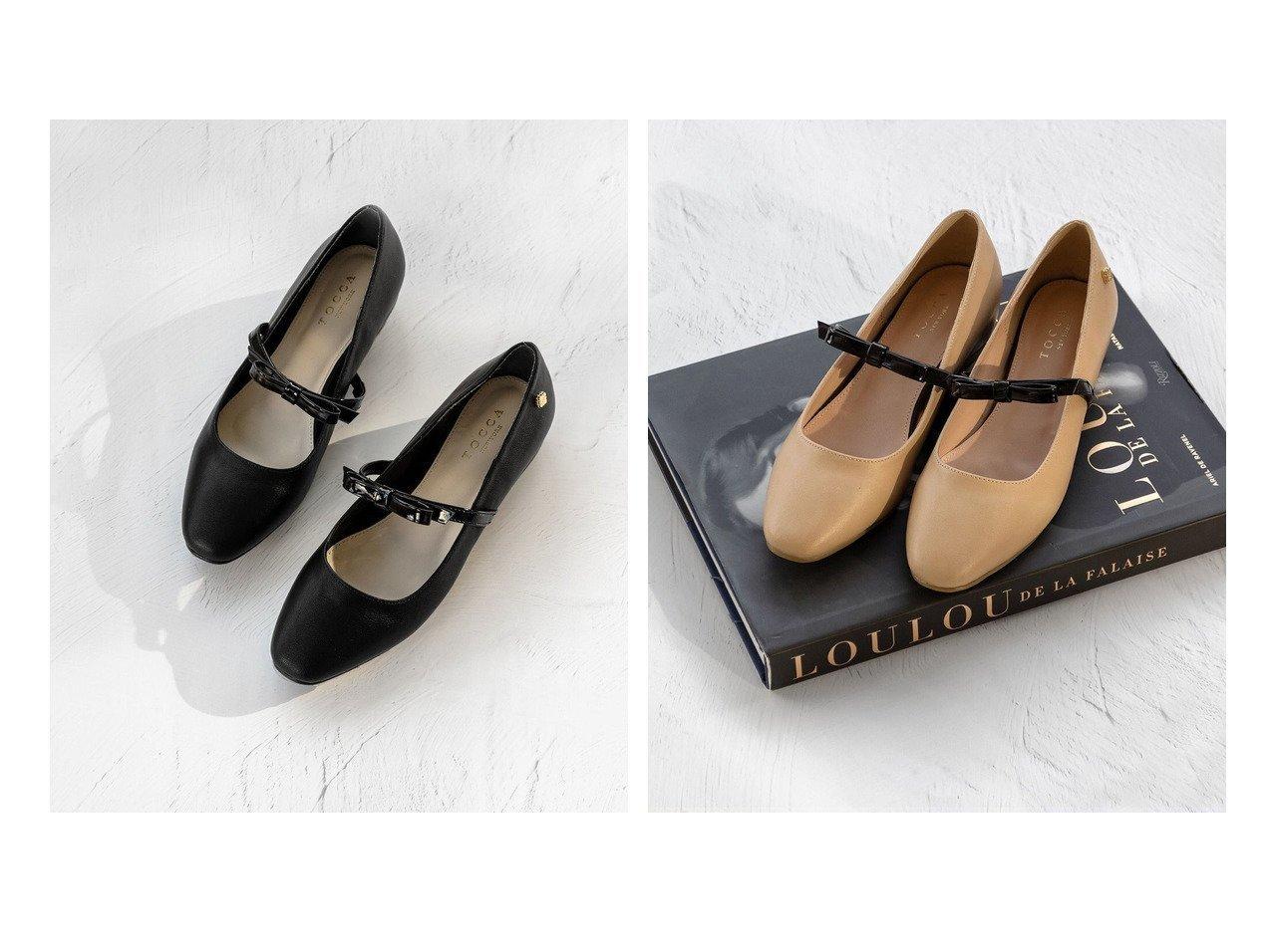 【TOCCA/トッカ】のTINYRIBBON INHEEL FLAT インヒールフラットシューズ 【シューズ・靴】おすすめ!人気トレンド・レディースファッション通販 おすすめで人気の流行・トレンド、ファッションの通販商品 インテリア・家具・メンズファッション・キッズファッション・レディースファッション・服の通販 founy(ファニー) https://founy.com/ ファッション Fashion レディースファッション WOMEN 送料無料 Free Shipping 2021年 2021 2021春夏・S/S SS/Spring/Summer/2021 S/S・春夏 SS・Spring/Summer クッション シューズ シンプル フラット ラップ リボン リラックス 再入荷 Restock/Back in Stock/Re Arrival 夏 Summer  ID:crp329100000046893