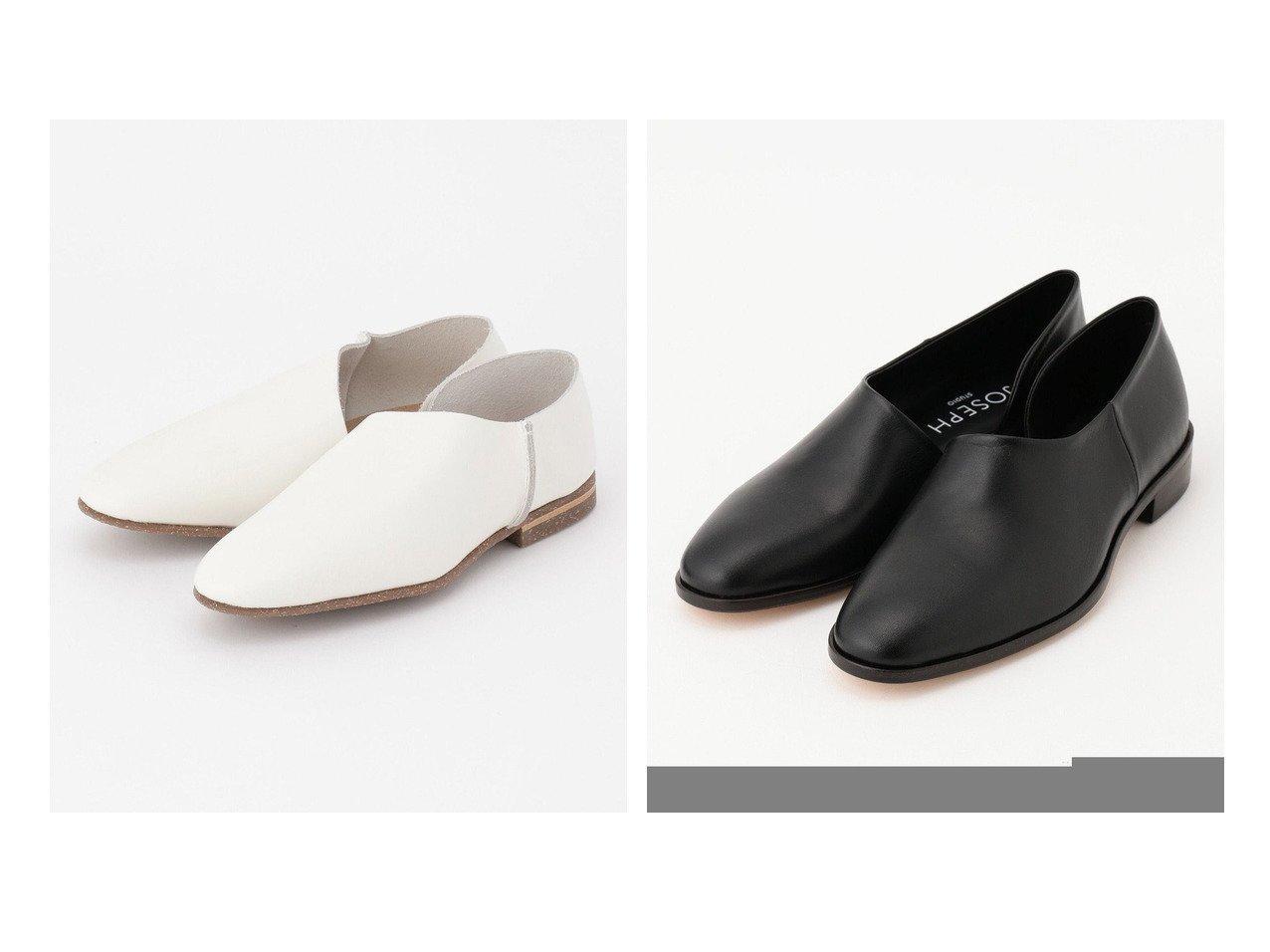 【BEIGE,/ベイジ,】のUー 2P SLIP-ON シューズ(Basic)&【JOSEPH/ジョゼフ】の【JOSEPH STUDIO】スムースレザー シューズ 【シューズ・靴】おすすめ!人気トレンド・レディースファッション通販 おすすめで人気の流行・トレンド、ファッションの通販商品 インテリア・家具・メンズファッション・キッズファッション・レディースファッション・服の通販 founy(ファニー) https://founy.com/ ファッション Fashion レディースファッション WOMEN オケージョン カッティング シューズ ストッキング スリッポン 人気 メンズ S/S・春夏 SS・Spring/Summer 送料無料 Free Shipping 夏 Summer クール シンプル フィット ポインテッド  ID:crp329100000046895