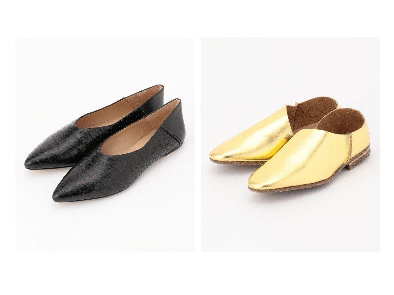 【BEIGE,/ベイジ,】のUー 2P SLIP-ON シューズ(Gold)&【JOSEPH/ジョゼフ】の【バックレススタイルでも!】 フラット シューズ 【シューズ・靴】おすすめ!人気トレンド・レディースファッション通販 おすすめで人気の流行・トレンド、ファッションの通販商品 インテリア・家具・メンズファッション・キッズファッション・レディースファッション・服の通販 founy(ファニー) https://founy.com/ ファッション Fashion レディースファッション WOMEN バッグ Bag 送料無料 Free Shipping シューズ シンプル ハンド フラット マーガレット リラックス オケージョン カッティング ストッキング スリッポン 人気 メンズ S/S・春夏 SS・Spring/Summer 夏 Summer  ID:crp329100000046899