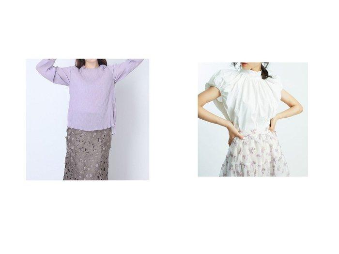 【RANDA/ランダ】のシアーメロースリーブトップス&【SNIDEL/スナイデル】のORGANICSギャザーブラウス 【トップス・カットソー】おすすめ!人気、トレンド・レディースファッションの通販 おすすめ人気トレンドファッション通販アイテム 人気、トレンドファッション・服の通販 founy(ファニー) ファッション Fashion レディースファッション WOMEN トップス・カットソー Tops/Tshirt シャツ/ブラウス Shirts/Blouses 2021年 2021 2021春夏・S/S SS/Spring/Summer/2021 S/S・春夏 SS・Spring/Summer コンパクト シンプル スリット フロント 夏 Summer 春 Spring ギャザー サスペンダー スタンド スマート スリーブ ハイネック バランス 半袖 おすすめ Recommend |ID:crp329100000047028