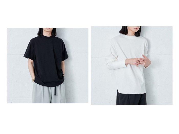 【ONWARD Design Diversity/オンワード デザイン ダイバーシティ】の【IIQUAL】バックヨーク切り替え Tシャツ&【IIQUAL】ラウンドボトム ロングスリーブ Tシャツ 【トップス・カットソー】おすすめ!人気、トレンド・レディースファッションの通販 おすすめ人気トレンドファッション通販アイテム インテリア・キッズ・メンズ・レディースファッション・服の通販 founy(ファニー) https://founy.com/ ファッション Fashion レディースファッション WOMEN トップス・カットソー Tops/Tshirt シャツ/ブラウス Shirts/Blouses ロング / Tシャツ T-Shirts カットソー Cut and Sewn 送料無料 Free Shipping カットソー ビッグ ヨーク ロング ワンポイント スリット スリーブ ボトム ラウンド |ID:crp329100000047062