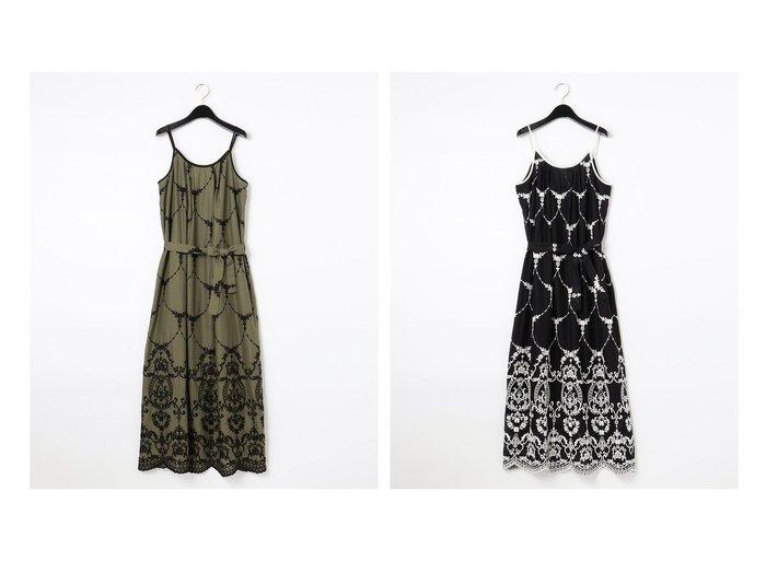 【GRACE CONTINENTAL/グレース コンチネンタル】のモスリン刺繍キャミドレス 別注・限定・コラボなど、おすすめ!人気トレンド・レディースファッション通販 おすすめ人気トレンドファッション通販アイテム 人気、トレンドファッション・服の通販 founy(ファニー) ファッション Fashion レディースファッション WOMEN ワンピース Dress ドレス Party Dresses カーディガン グラフィック スペシャル ドレス フランス 別注 リボン 送料無料 Free Shipping 夏 Summer |ID:crp329100000047119