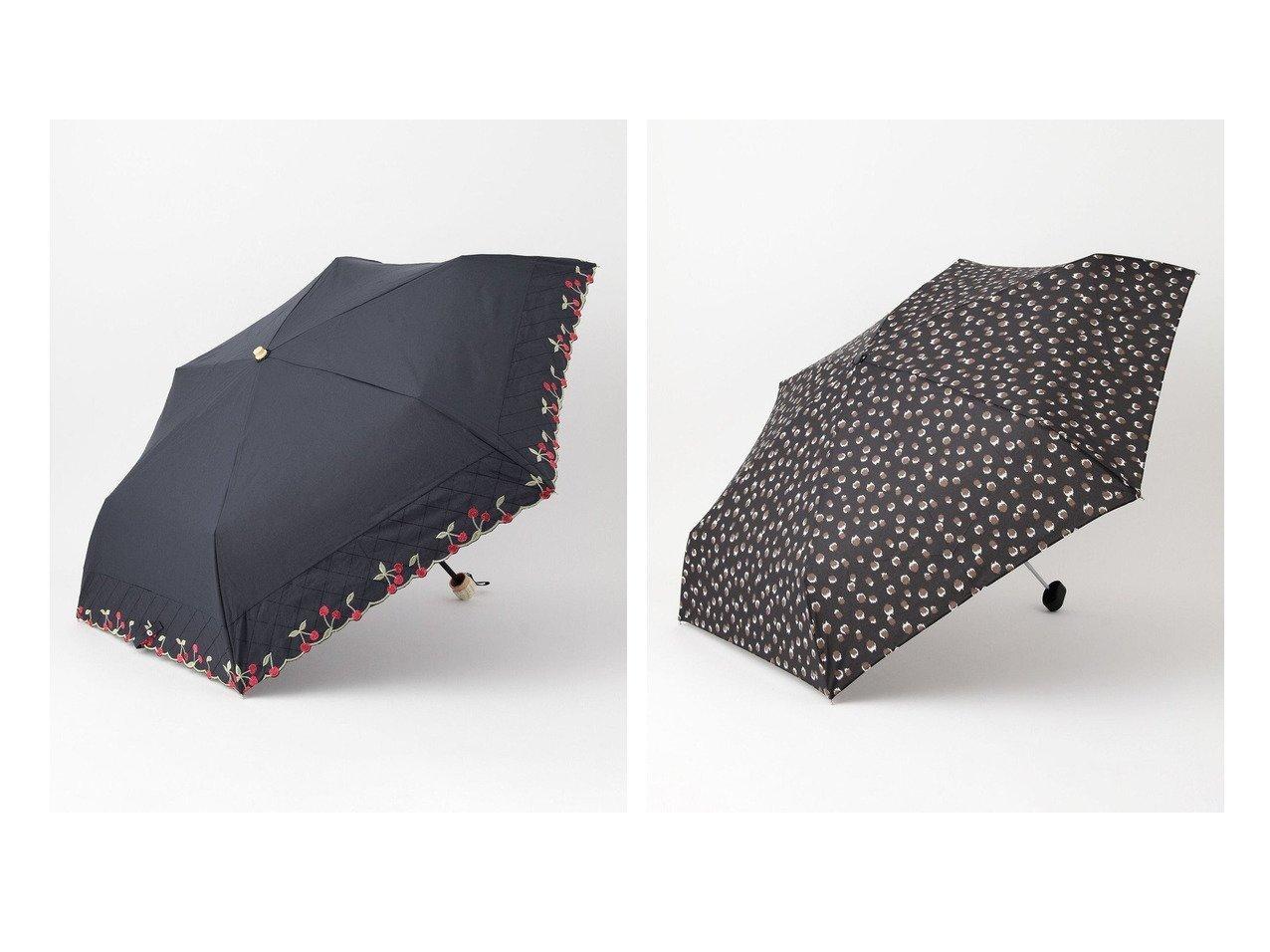 【Feroux/フェルゥ】のボーダリングチェリーパラソル折りたたみ 傘&フェミニンレオパードアンブレラ折りたたみ 傘 【プチプライス・低価格】おすすめ!人気トレンド・レディースファッション通販  おすすめで人気の流行・トレンド、ファッションの通販商品 インテリア・家具・メンズファッション・キッズファッション・レディースファッション・服の通販 founy(ファニー) https://founy.com/ ファッション Fashion レディースファッション WOMEN 傘 / レイングッズ Umbrellas/Rainwear 送料無料 Free Shipping チェリー 傘 日傘 レオパード |ID:crp329100000047386
