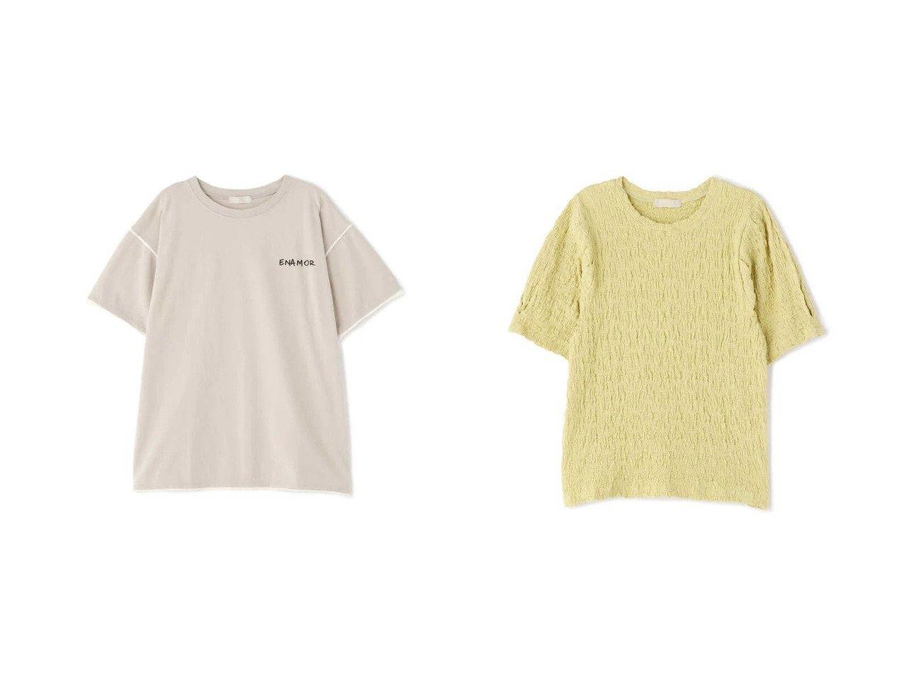 【FREE'S MART/フリーズマート】の配色カットオフフォトプリントTシャツ&ふくれジャガードパフスリーブカットソー 【プチプライス・低価格】おすすめ!人気トレンド・レディースファッション通販  おすすめで人気の流行・トレンド、ファッションの通販商品 インテリア・家具・メンズファッション・キッズファッション・レディースファッション・服の通販 founy(ファニー) https://founy.com/ ファッション Fashion レディースファッション WOMEN トップス・カットソー Tops/Tshirt シャツ/ブラウス Shirts/Blouses ロング / Tシャツ T-Shirts カットソー Cut and Sewn パイピング ボトム おすすめ Recommend カットソー キャミワンピース シャーリング シンプル スリーブ 無地  ID:crp329100000047412