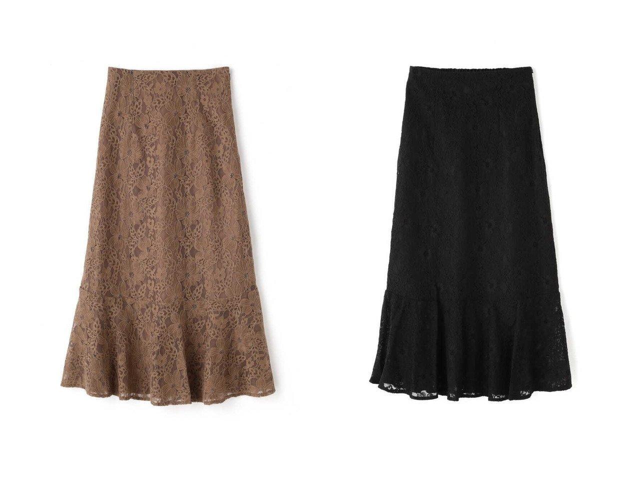 【FREE'S MART/フリーズマート】の《Sシリーズ対応商品》ハイウエストレースマーメードスカート 【プチプライス・低価格】おすすめ!人気トレンド・レディースファッション通販  おすすめで人気の流行・トレンド、ファッションの通販商品 インテリア・家具・メンズファッション・キッズファッション・レディースファッション・服の通販 founy(ファニー) https://founy.com/ ファッション Fashion レディースファッション WOMEN スカート Skirt フレア マーメイド レース |ID:crp329100000047426