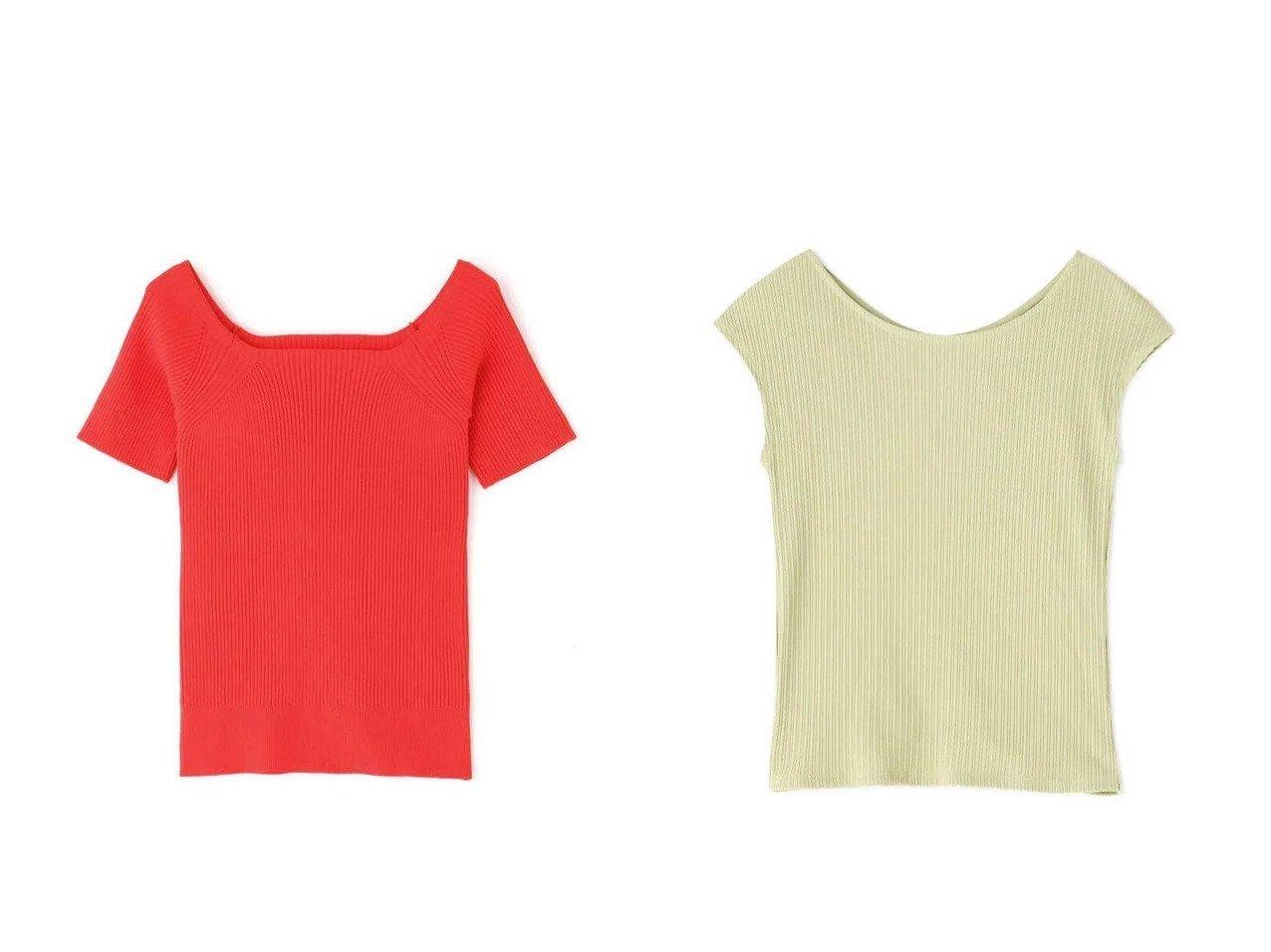 【FREE'S MART/フリーズマート】の2Wayオフショルリブニット&ランダムテレコ2Wayフレンチスリーブカットソー 【プチプライス・低価格】おすすめ!人気トレンド・レディースファッション通販  おすすめで人気の流行・トレンド、ファッションの通販商品 インテリア・家具・メンズファッション・キッズファッション・レディースファッション・服の通販 founy(ファニー) https://founy.com/ ファッション Fashion レディースファッション WOMEN トップス・カットソー Tops/Tshirt ニット Knit Tops カットソー Cut and Sewn オフショル コンパクト デコルテ ボトム リブニット 人気 今季 定番 Standard カーディガン シンプル スリーブ テレコ フィット フレンチ ランダム |ID:crp329100000047428