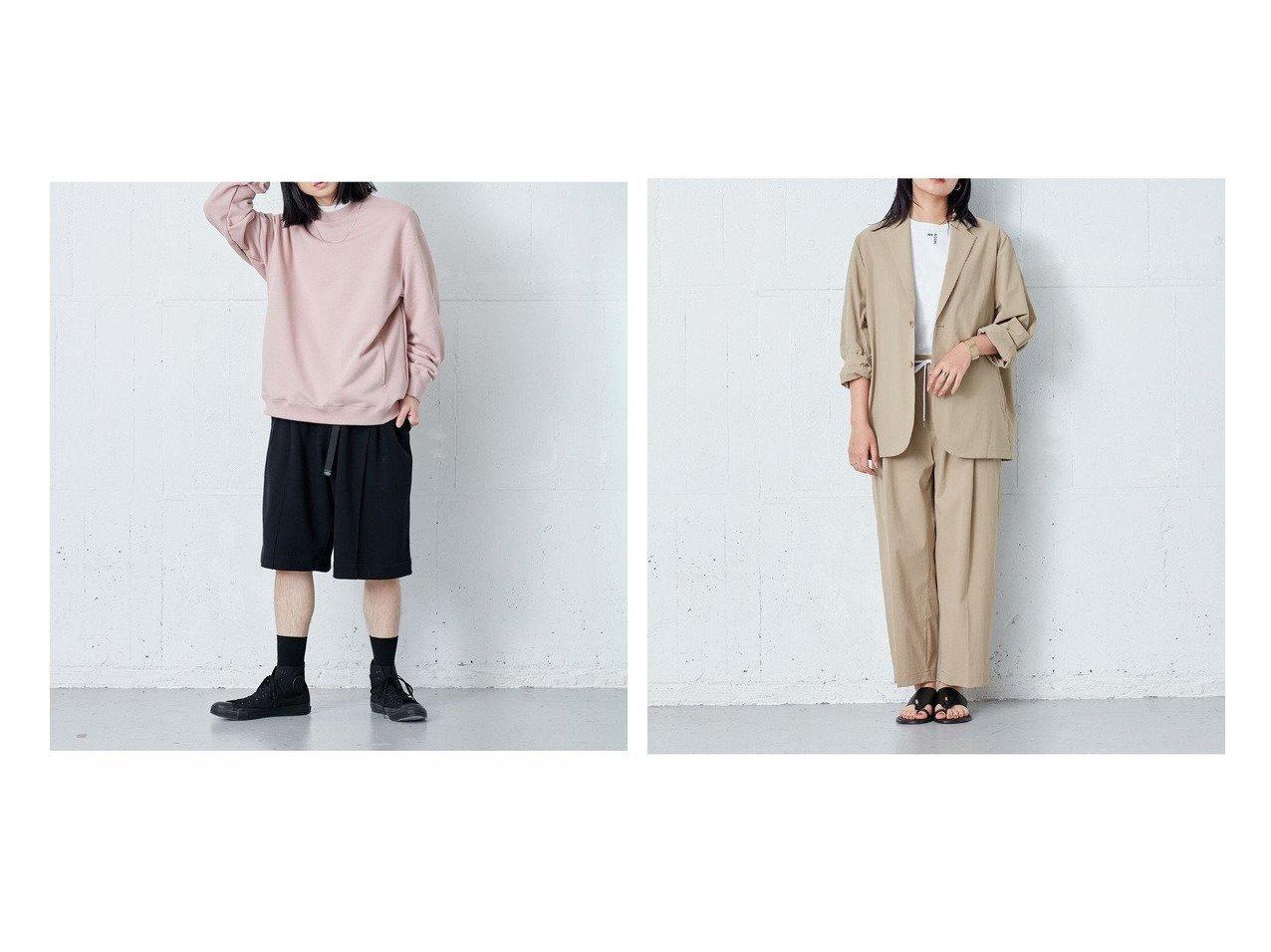 【ONWARD Design Diversity/オンワード デザイン ダイバーシティ】の【IIQUAL】ストレッチ ワイドパンツ&【IIQUAL】スウェットハーフパンツ 【パンツ】おすすめ!人気、トレンド・レディースファッションの通販 おすすめで人気の流行・トレンド、ファッションの通販商品 インテリア・家具・メンズファッション・キッズファッション・レディースファッション・服の通販 founy(ファニー) https://founy.com/ ファッション Fashion レディースファッション WOMEN パンツ Pants ハーフ / ショートパンツ Short Pants 吸水 抗菌 スウェット センター バランス フロント ポケット メッシュ 送料無料 Free Shipping  ID:crp329100000047486