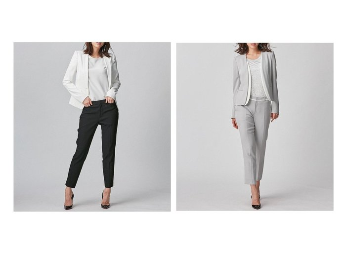 【BEIGE,/ベイジ,】の【Sサイズ】LUIZA- スティックパンツ&テーパードパンツ 【パンツ】おすすめ!人気、トレンド・レディースファッションの通販 おすすめ人気トレンドファッション通販アイテム 人気、トレンドファッション・服の通販 founy(ファニー) ファッション Fashion レディースファッション WOMEN パンツ Pants コンパクト シンプル ジャケット ストレッチ セットアップ テーパード 定番 Standard 人気 パターン ポケット ラグジュアリー レギュラー 送料無料 Free Shipping おすすめ Recommend |ID:crp329100000047513