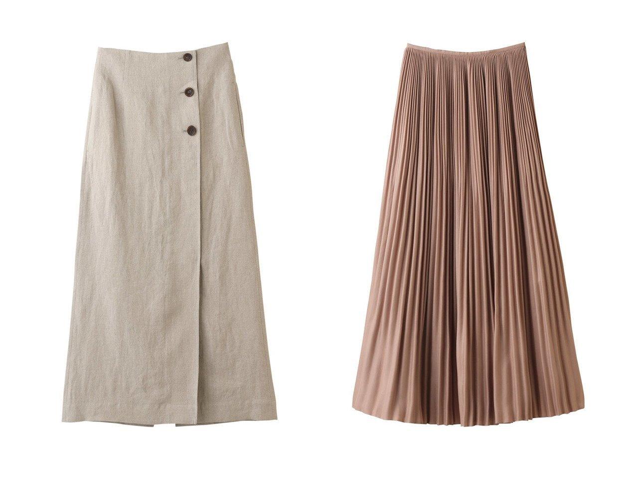 【martinique/マルティニーク】の【l heritage martinique】プリーツスカート&ラップ風ロングスカート 【スカート】おすすめ!人気、トレンド・レディースファッションの通販 おすすめで人気の流行・トレンド、ファッションの通販商品 インテリア・家具・メンズファッション・キッズファッション・レディースファッション・服の通販 founy(ファニー) https://founy.com/ ファッション Fashion レディースファッション WOMEN スカート Skirt ロングスカート Long Skirt プリーツスカート Pleated Skirts S/S・春夏 SS・Spring/Summer ラップ リネン ロング 夏 Summer 春 Spring シンプル プリーツ |ID:crp329100000047524