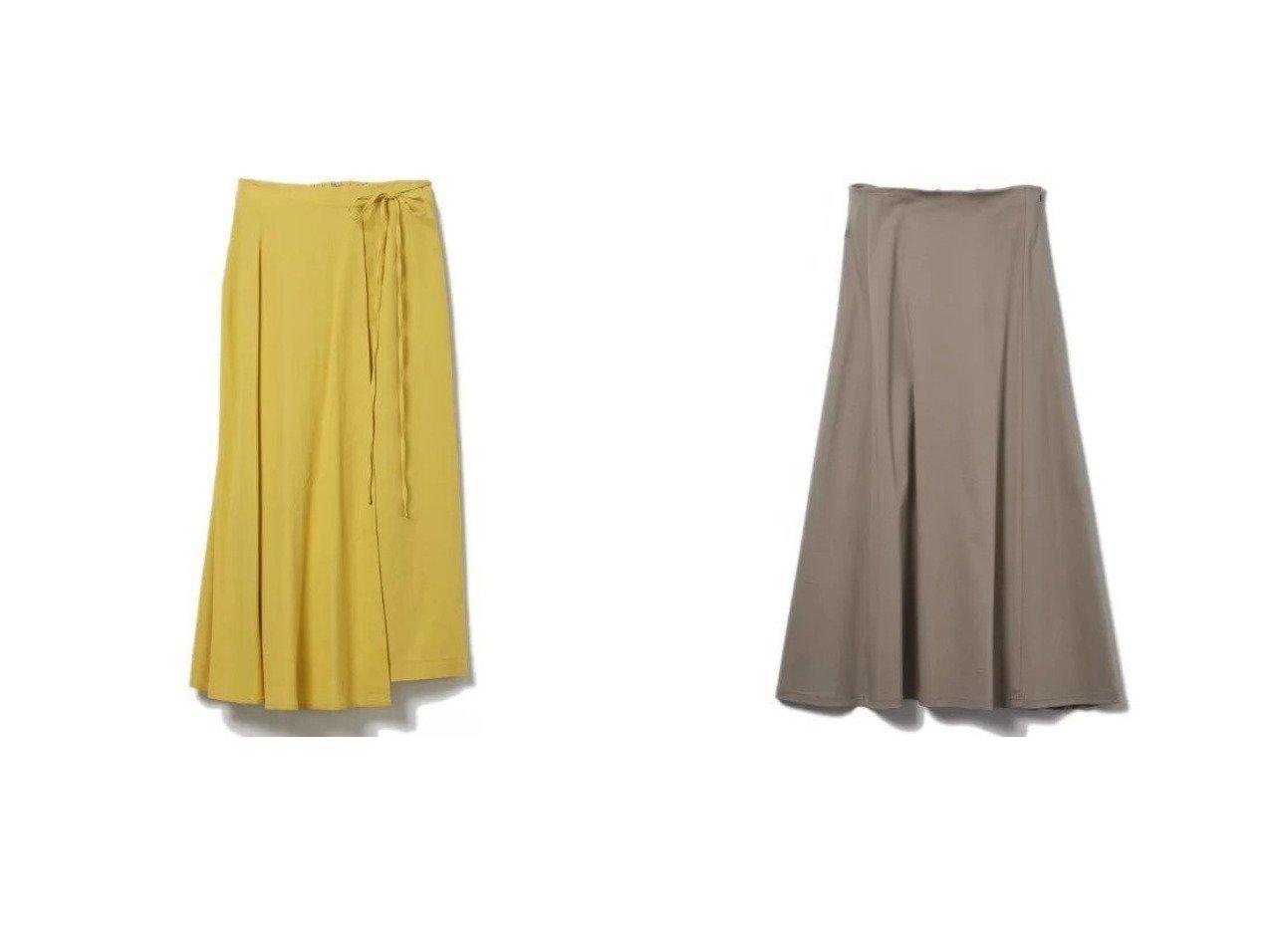 【CLEAR IMPRESSION/クリアインプレッション】の《musee》クールタッチコットンレースアップスカート&《musee》ボイルラップスカート 【スカート】おすすめ!人気、トレンド・レディースファッションの通販 おすすめで人気の流行・トレンド、ファッションの通販商品 インテリア・家具・メンズファッション・キッズファッション・レディースファッション・服の通販 founy(ファニー) https://founy.com/ ファッション Fashion レディースファッション WOMEN スカート Skirt シンプル セットアップ ラップ ロング カットソー フレアースカート レース |ID:crp329100000047537