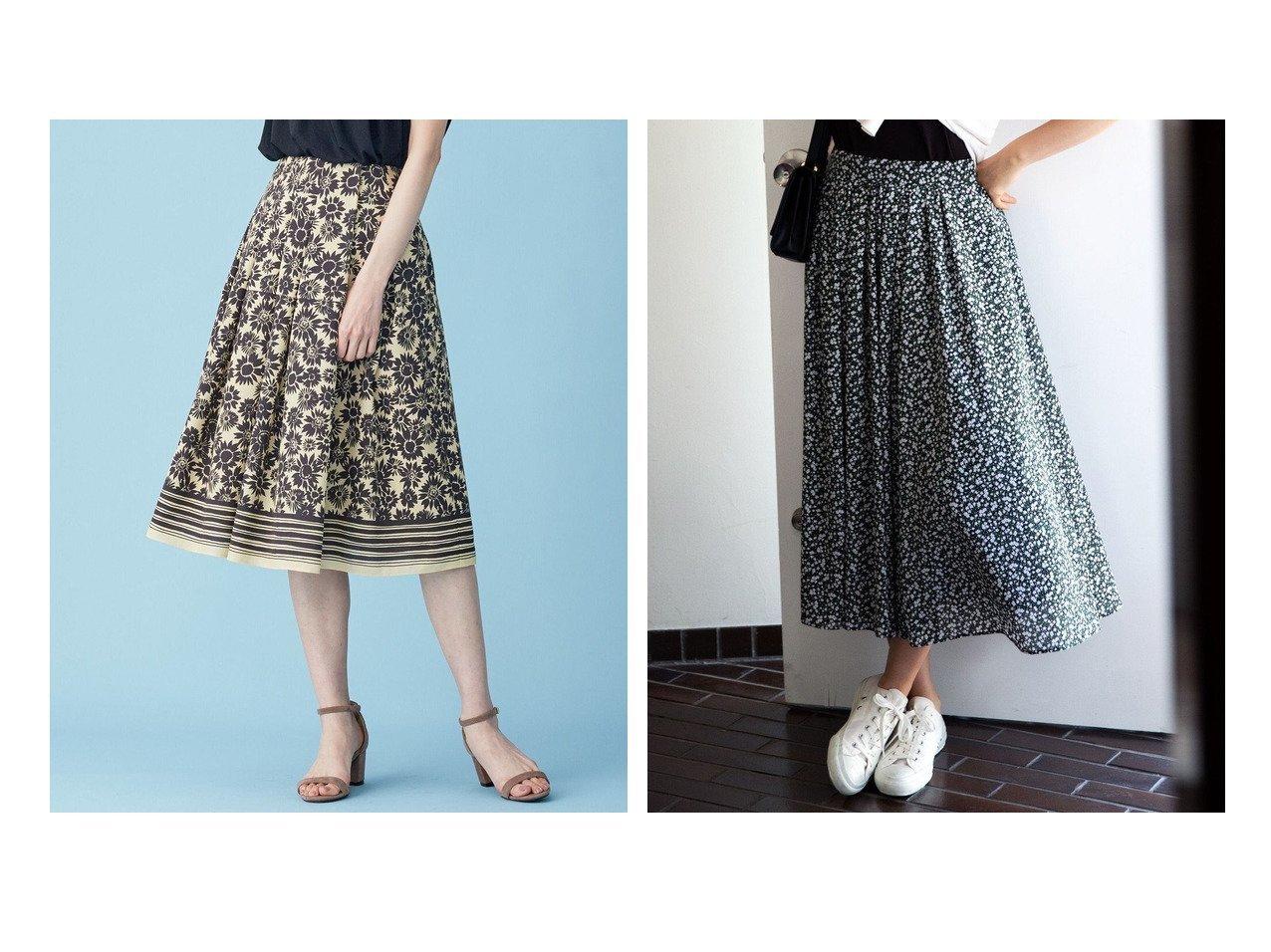 【KUMIKYOKU/組曲】の【洗える】プティフルールプリント スカート&【Rythme KUMIKYOKU】サンフラワープリントトロ フレアスカート 【スカート】おすすめ!人気、トレンド・レディースファッションの通販 おすすめで人気の流行・トレンド、ファッションの通販商品 インテリア・家具・メンズファッション・キッズファッション・レディースファッション・服の通販 founy(ファニー) https://founy.com/ ファッション Fashion レディースファッション WOMEN スカート Skirt Aライン/フレアスカート Flared A-Line Skirts コレクション 手描き フラワー フレア プリント ミドル モチーフ ランダム 2021年 2021 S/S・春夏 SS・Spring/Summer 2021春夏・S/S SS/Spring/Summer/2021 送料無料 Free Shipping 夏 Summer ギャザー ジョーゼット セットアップ ドレープ ビンテージ 再入荷 Restock/Back in Stock/Re Arrival 洗える |ID:crp329100000047545