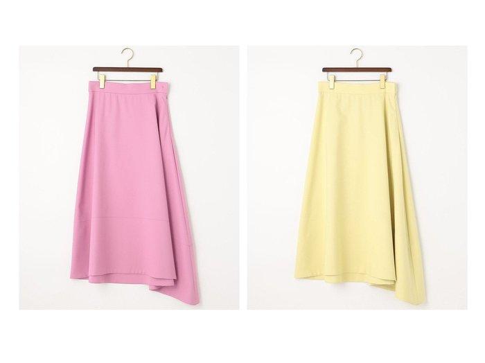 【JIYU-KU/自由区】の【Class Lounge】Wクロス スカート 【スカート】おすすめ!人気、トレンド・レディースファッションの通販 おすすめ人気トレンドファッション通販アイテム インテリア・キッズ・メンズ・レディースファッション・服の通販 founy(ファニー) https://founy.com/ ファッション Fashion レディースファッション WOMEN スカート Skirt 送料無料 Free Shipping 2021年 2021 2021春夏・S/S SS/Spring/Summer/2021 S/S・春夏 SS・Spring/Summer アシンメトリー ストレッチ モダン 吸水 日本製 Made in Japan  ID:crp329100000047546