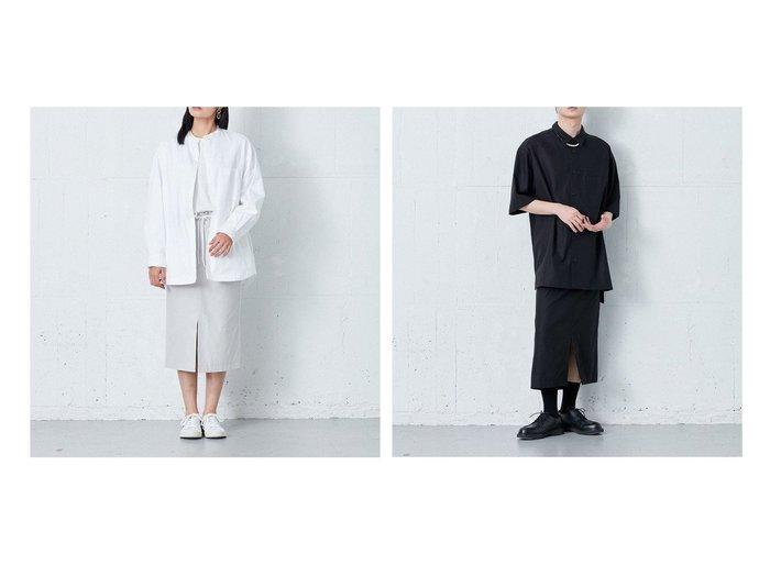 【ONWARD Design Diversity/オンワード デザイン ダイバーシティ】の【IIQUAL】ミディアムレングス スリットスカート 【スカート】おすすめ!人気、トレンド・レディースファッションの通販 おすすめ人気トレンドファッション通販アイテム インテリア・キッズ・メンズ・レディースファッション・服の通販 founy(ファニー) https://founy.com/ ファッション Fashion レディースファッション WOMEN スカート Skirt スリット セットアップ バランス ミドル 再入荷 Restock/Back in Stock/Re Arrival 送料無料 Free Shipping おすすめ Recommend |ID:crp329100000047548