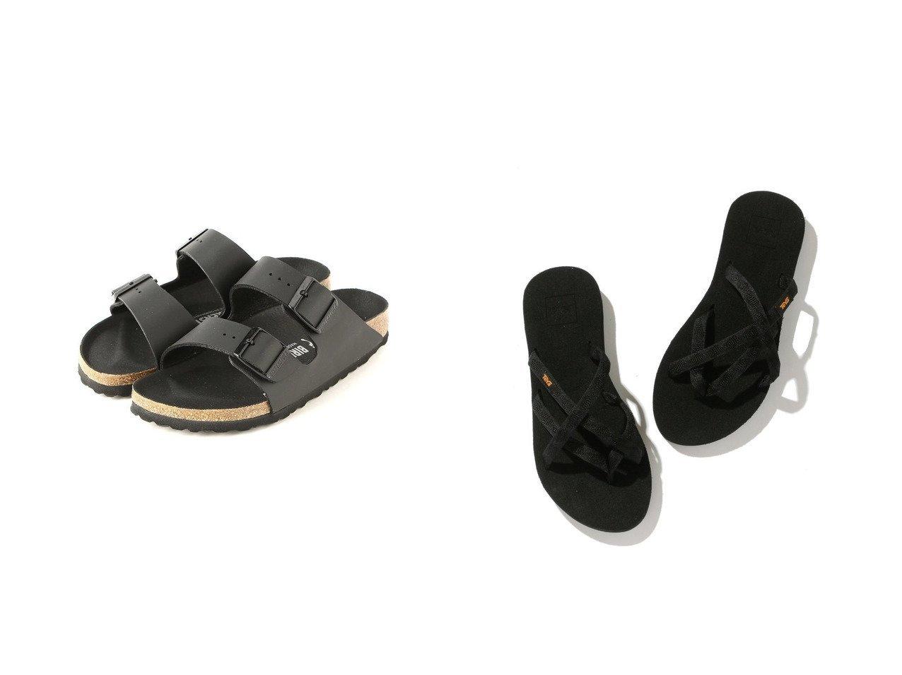 【ROPE'PICNIC PASSAGE/ロペピクニック パサージュ】の【Teva】 テバ OLOWAHU オロワフ&【BIRKENSTOCK/ビルケンシュトック】のARIZONA BF-TRIPLES 【シューズ・靴】おすすめ!人気、トレンド・レディースファッションの通販 おすすめで人気の流行・トレンド、ファッションの通販商品 インテリア・家具・メンズファッション・キッズファッション・レディースファッション・服の通販 founy(ファニー) https://founy.com/ ファッション Fashion レディースファッション WOMEN NEW・新作・新着・新入荷 New Arrivals サンダル シューズ ミュール おすすめ Recommend シンプル スポーツ ビーチ フィット 軽量 |ID:crp329100000047553