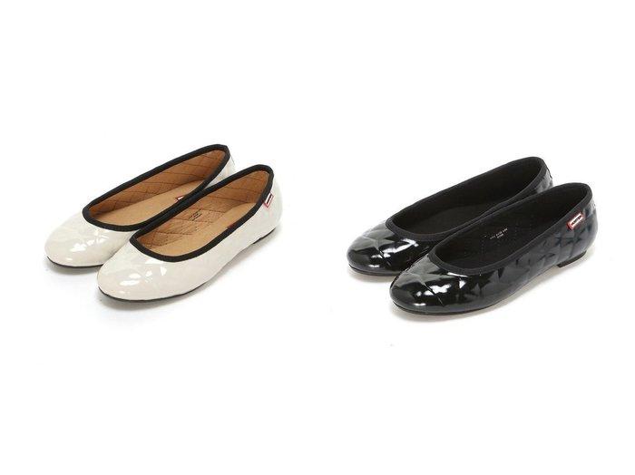 【HUNTER/ハンター】のORIGINAL QUILTED BALLERINA GLO 【シューズ・靴】おすすめ!人気、トレンド・レディースファッションの通販 おすすめ人気トレンドファッション通販アイテム インテリア・キッズ・メンズ・レディースファッション・服の通販 founy(ファニー) https://founy.com/ ファッション Fashion レディースファッション WOMEN S/S・春夏 SS・Spring/Summer シューズ バレエ ラバー 再入荷 Restock/Back in Stock/Re Arrival 夏 Summer 春 Spring  ID:crp329100000047554