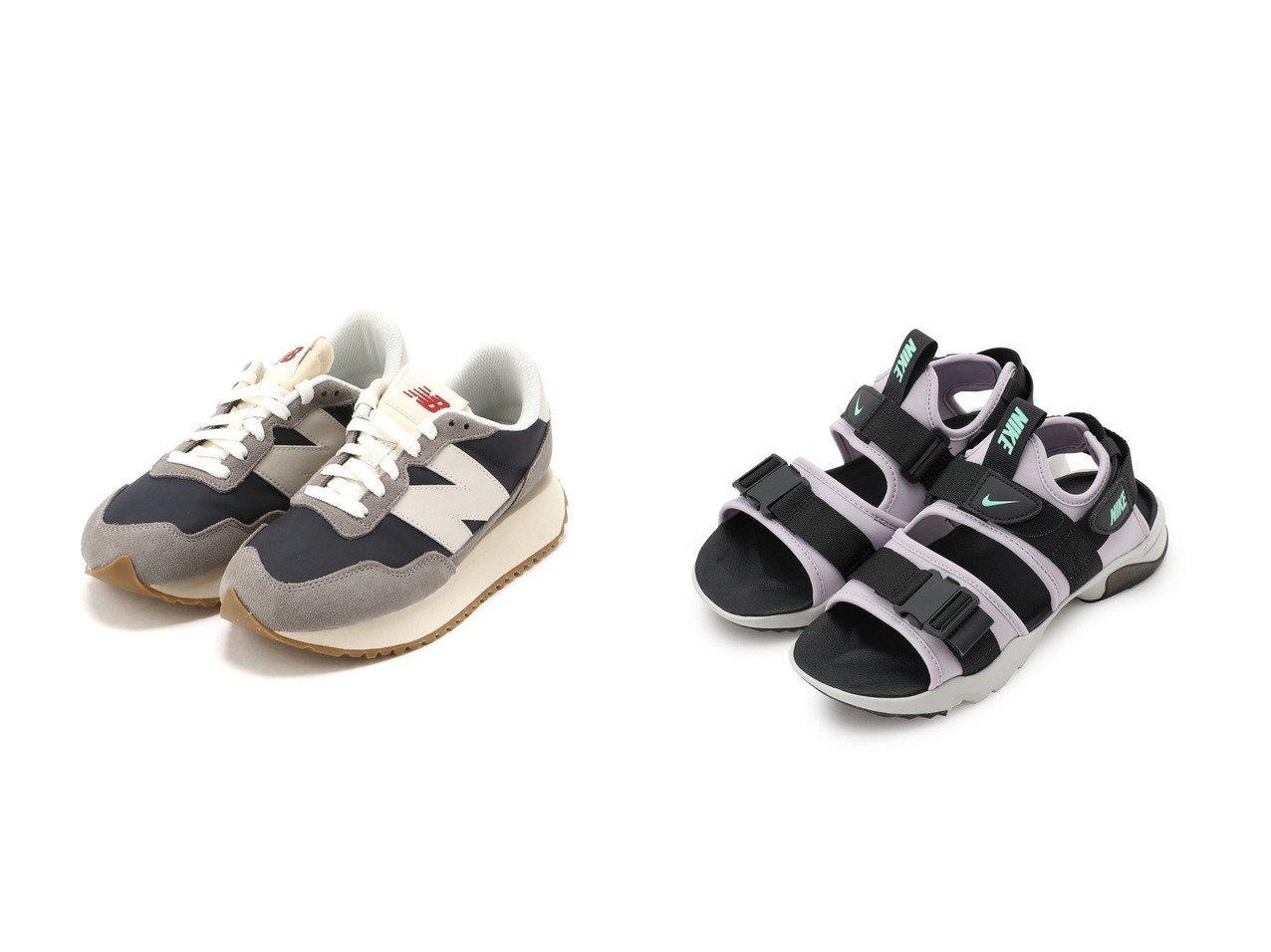 【NIKE/ナイキ】の【NIKE】ナイキ キャニオン ウィメンズサンダル&【new balance/ニューバランス】のM237 【シューズ・靴】おすすめ!人気、トレンド・レディースファッションの通販 おすすめで人気の流行・トレンド、ファッションの通販商品 インテリア・家具・メンズファッション・キッズファッション・レディースファッション・服の通販 founy(ファニー) https://founy.com/ ファッション Fashion レディースファッション WOMEN NEW・新作・新着・新入荷 New Arrivals シューズ スニーカー スリッポン サンダル スタイリッシュ フィット フォーム ミュール ラップ ラバー 夏 Summer |ID:crp329100000047555