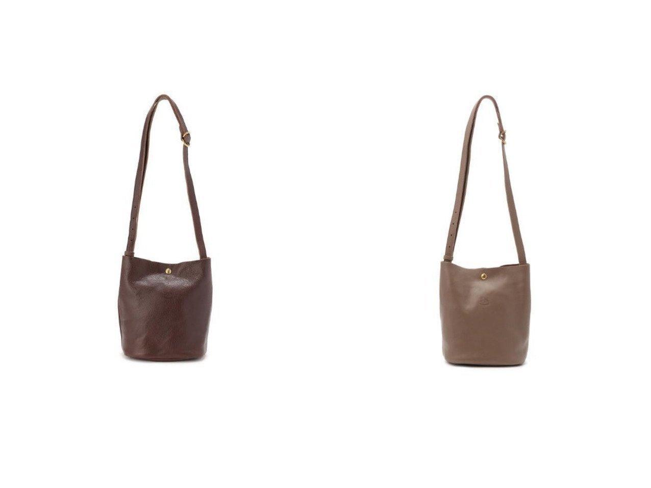 【IL BISONTE/イル ビゾンテ】のショルダーバッグ 【バッグ・鞄】おすすめ!人気、トレンド・レディースファッションの通販 おすすめで人気の流行・トレンド、ファッションの通販商品 インテリア・家具・メンズファッション・キッズファッション・レディースファッション・服の通販 founy(ファニー) https://founy.com/ ファッション Fashion レディースファッション WOMEN バッグ Bag シンプル バケツ フォルム フロント ポケット  ID:crp329100000047568
