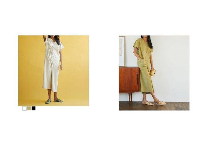 【Brown and Street/ブラウンアンドストリート】のリネン混リラクシーオールインワン 【ワンピース・ドレス】おすすめ!人気、トレンド・レディースファッションの通販 おすすめ人気トレンドファッション通販アイテム 人気、トレンドファッション・服の通販 founy(ファニー) ファッション Fashion レディースファッション WOMEN ワンピース Dress オールインワン ワンピース All In One Dress 春 Spring くるぶし シンプル ネップ 人気 バランス ペチコート リネン 2021年 2021 S/S・春夏 SS・Spring/Summer 2021春夏・S/S SS/Spring/Summer/2021 おすすめ Recommend 夏 Summer |ID:crp329100000047607