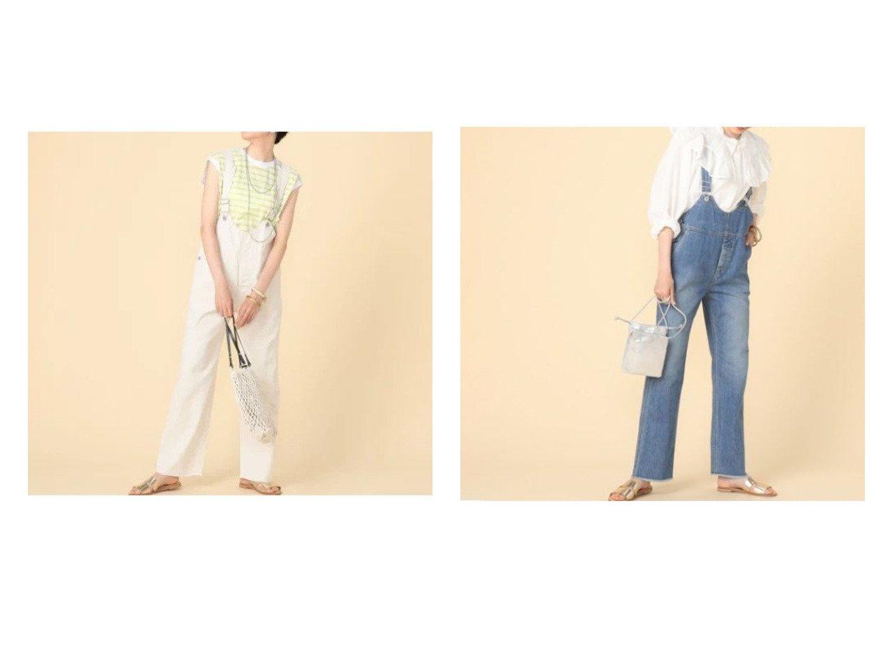 【NOLLEY'S/ノーリーズ】の【ジョンブル】ショートビブオーバーオールホワイト&【ジョンブル】ショートビブデニムオーバーオール 【ワンピース・ドレス】おすすめ!人気、トレンド・レディースファッションの通販 おすすめで人気の流行・トレンド、ファッションの通販商品 インテリア・家具・メンズファッション・キッズファッション・レディースファッション・服の通販 founy(ファニー) https://founy.com/ ファッション Fashion レディースファッション WOMEN ワンピース Dress オールインワン ワンピース All In One Dress サロペット Salopette サスペンダー サロペット ショート ジーンズ ストレート トレンド ドレス ビッグ ミリタリー ワーク おすすめ Recommend |ID:crp329100000047622