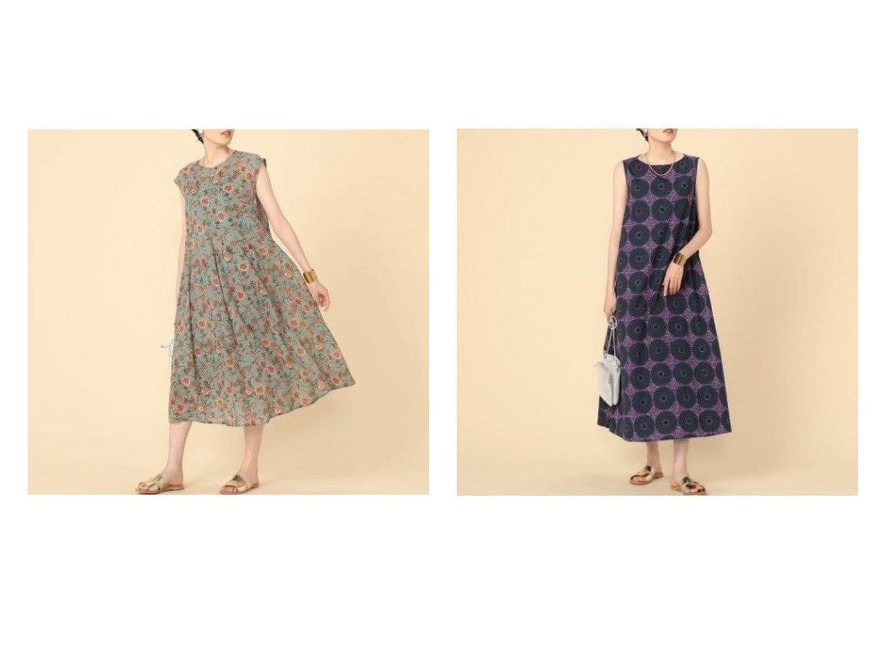 【NOLLEY'S/ノーリーズ】のフラワープリントワンピース&【ルグラジック】 バティックワンピース 【ワンピース・ドレス】おすすめ!人気、トレンド・レディースファッションの通販 おすすめで人気の流行・トレンド、ファッションの通販商品 インテリア・家具・メンズファッション・キッズファッション・レディースファッション・服の通販 founy(ファニー) https://founy.com/ ファッション Fashion レディースファッション WOMEN ワンピース Dress シアー スリーブ ノースリーブ フレンチ プリント リゾート 人気 フランス ワーク |ID:crp329100000047628