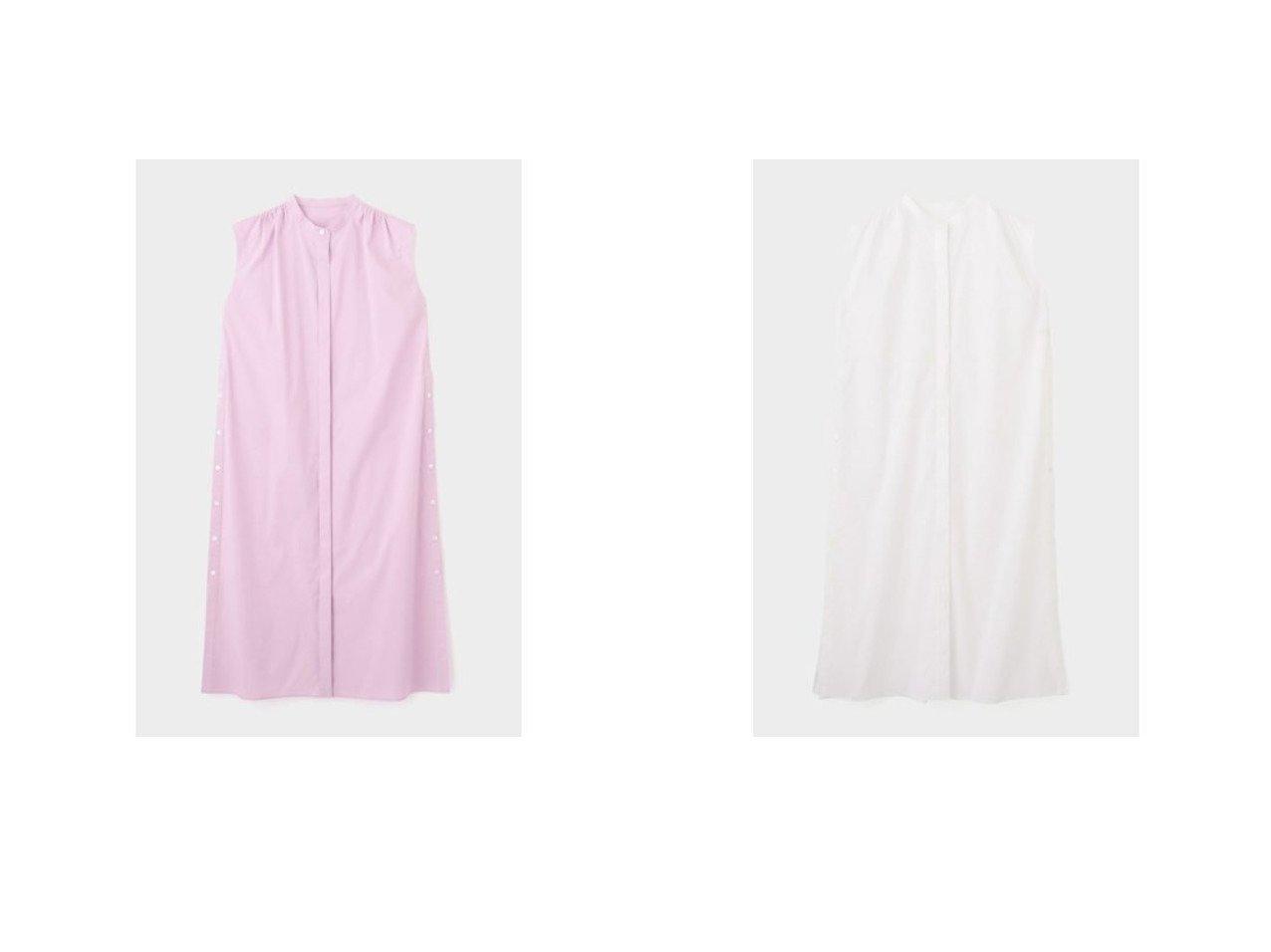 【LE PHIL/ル フィル】のストレッチブロードワンピース 【ワンピース・ドレス】おすすめ!人気、トレンド・レディースファッションの通販 おすすめで人気の流行・トレンド、ファッションの通販商品 インテリア・家具・メンズファッション・キッズファッション・レディースファッション・服の通販 founy(ファニー) https://founy.com/ ファッション Fashion レディースファッション WOMEN ワンピース Dress シャツワンピース Shirt Dresses 2021年 2021 2021春夏・S/S SS/Spring/Summer/2021 S/S・春夏 SS・Spring/Summer シンプル ストレート スリット ノースリーブ マキシ |ID:crp329100000047631