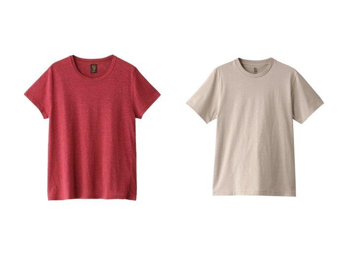【BATONER/バトナー】のリネンAラインボートネックTシャツ&PACK Tシャツ(DEGREASE COTTON) 【トップス・カットソー】おすすめ!人気、トレンド・レディースファッションの通販 おすすめ人気トレンドファッション通販アイテム 人気、トレンドファッション・服の通販 founy(ファニー) ファッション Fashion レディースファッション WOMEN トップス・カットソー Tops/Tshirt シャツ/ブラウス Shirts/Blouses ロング / Tシャツ T-Shirts カットソー Cut and Sewn S/S・春夏 SS・Spring/Summer ショート シンプル スリーブ リネン 半袖 夏 Summer 春 Spring |ID:crp329100000047668