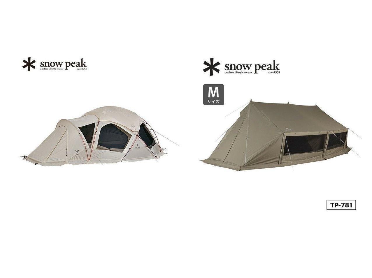 【Snow Peak/スノーピーク】のグランベルク M&Dock Dome Pro.6 Ivory ドックドーム Pro.6 アイボリー おすすめ!人気キャンプ・アウトドア用品の通販 おすすめで人気の流行・トレンド、ファッションの通販商品 インテリア・家具・メンズファッション・キッズファッション・レディースファッション・服の通販 founy(ファニー) https://founy.com/ インナー フレーム コーティング ボトム ループ ホーム・キャンプ・アウトドア Home,Garden,Outdoor,Camping Gear キャンプ用品・アウトドア  Camping Gear & Outdoor Supplies その他 雑貨 小物 Camping Tools  ID:crp329100000047686