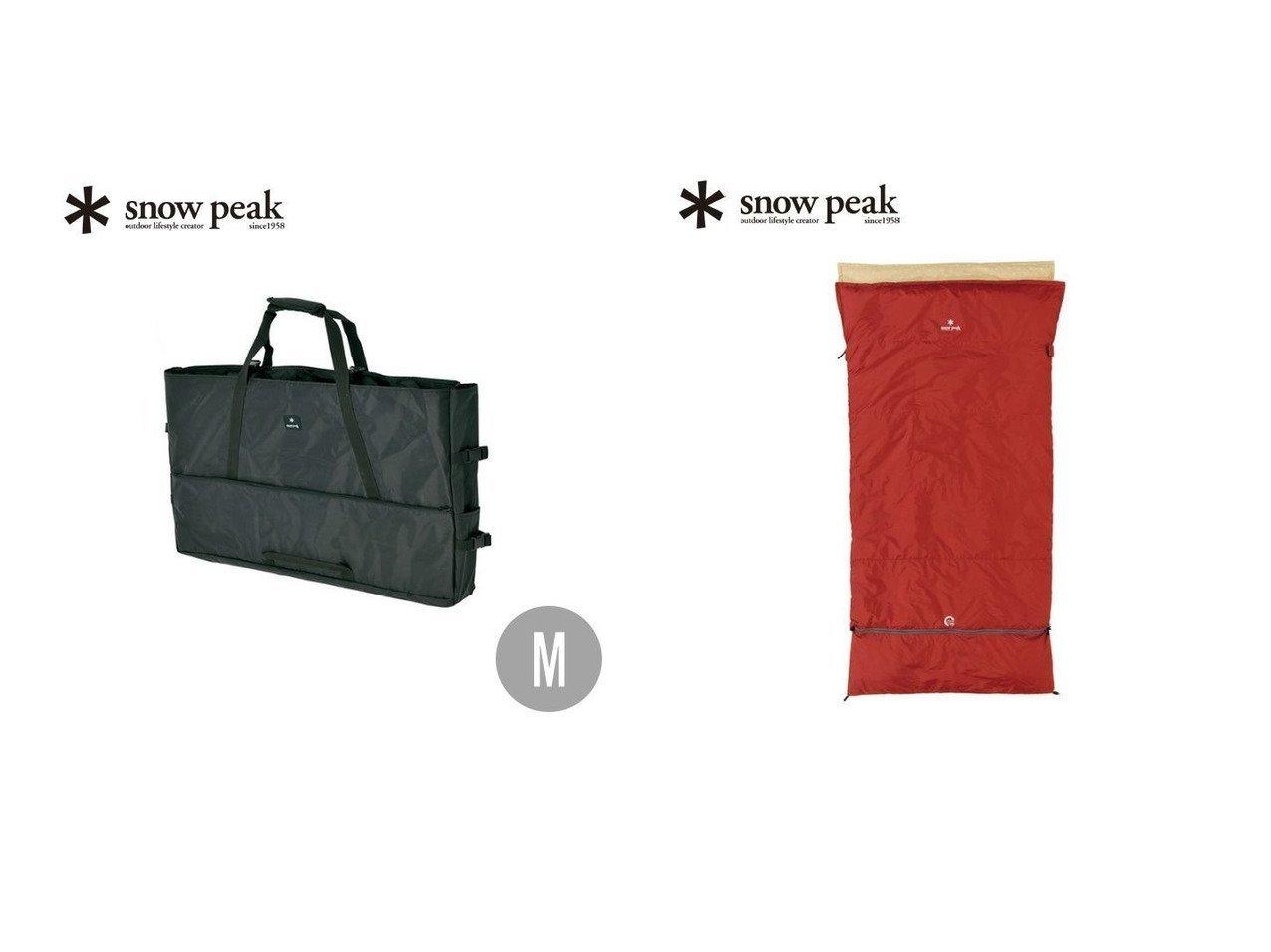 【Snow Peak/スノーピーク】のセパレートシュラフ オフトンワイド LX Separate Sleeping Bag Ofuton Wide LX&Gear Tote M ギアトートM おすすめ!人気キャンプ・アウトドア用品の通販 おすすめで人気の流行・トレンド、ファッションの通販商品 インテリア・家具・メンズファッション・キッズファッション・レディースファッション・服の通販 founy(ファニー) https://founy.com/ テーブル ポケット セパレート ワイド ホーム・キャンプ・アウトドア Home,Garden,Outdoor,Camping Gear キャンプ用品・アウトドア  Camping Gear & Outdoor Supplies その他 雑貨 小物 Camping Tools ホーム・キャンプ・アウトドア Home,Garden,Outdoor,Camping Gear キャンプ用品・アウトドア  Camping Gear & Outdoor Supplies 寝具 シュラフ 枕 Schlaf, Sleeping bag, Pillow  ID:crp329100000047688