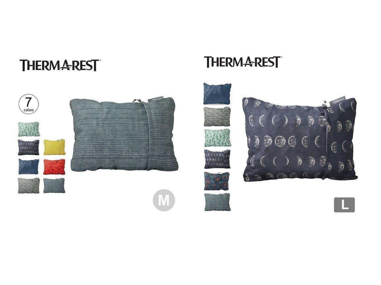 【THERM-A-REST/サーマレスト】のコンプレッシブルピロー M&コンプレッシブルピロー L おすすめ!人気キャンプ・アウトドア用品の通販 おすすめで人気の流行・トレンド、ファッションの通販商品 インテリア・家具・メンズファッション・キッズファッション・レディースファッション・服の通販 founy(ファニー) https://founy.com/ デニム フォーム プリント ホーム・キャンプ・アウトドア Home,Garden,Outdoor,Camping Gear キャンプ用品・アウトドア  Camping Gear & Outdoor Supplies 寝具 シュラフ 枕 Schlaf, Sleeping bag, Pillow |ID:crp329100000047714