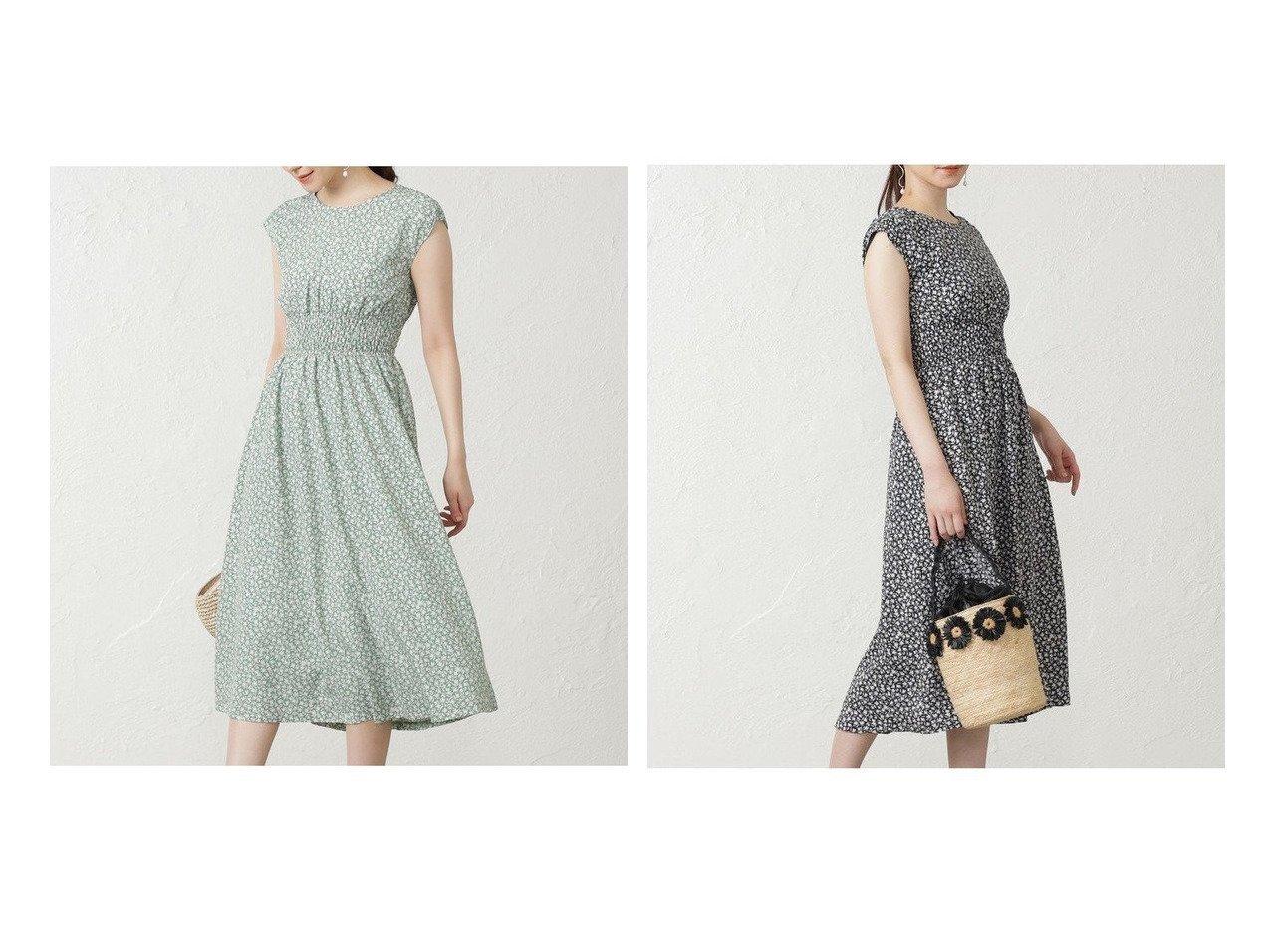【EPOCA THE SHOP/エポカ ザ ショップ】の小花プリントドレス おすすめ!人気、トレンド・レディースファッションの通販 おすすめで人気の流行・トレンド、ファッションの通販商品 インテリア・家具・メンズファッション・キッズファッション・レディースファッション・服の通販 founy(ファニー) https://founy.com/ ファッション Fashion レディースファッション WOMEN ワンピース Dress ドレス Party Dresses ドレス プリント 再入荷 Restock/Back in Stock/Re Arrival |ID:crp329100000047978