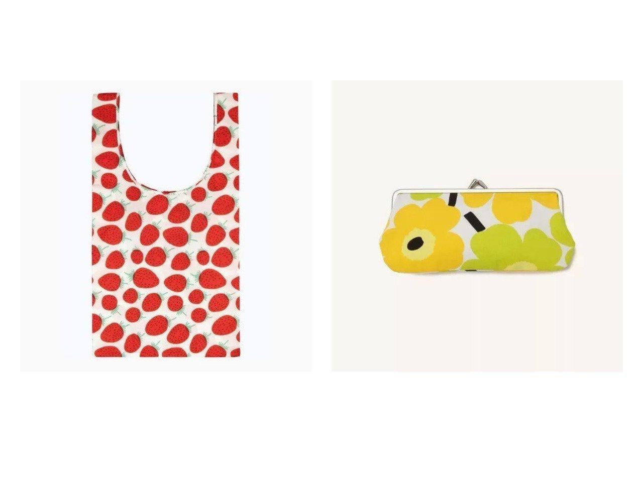 【marimekko/マリメッコ】のSilmalasikukkaro がま口ポーチ&Mansikka スマートバッグ おすすめ!人気、トレンド・レディースファッションの通販 おすすめで人気の流行・トレンド、ファッションの通販商品 インテリア・家具・メンズファッション・キッズファッション・レディースファッション・服の通販 founy(ファニー) https://founy.com/ ファッション Fashion レディースファッション WOMEN ポーチ Pouches バッグ Bag サングラス ファブリック ポーチ スマート ポケット |ID:crp329100000047986