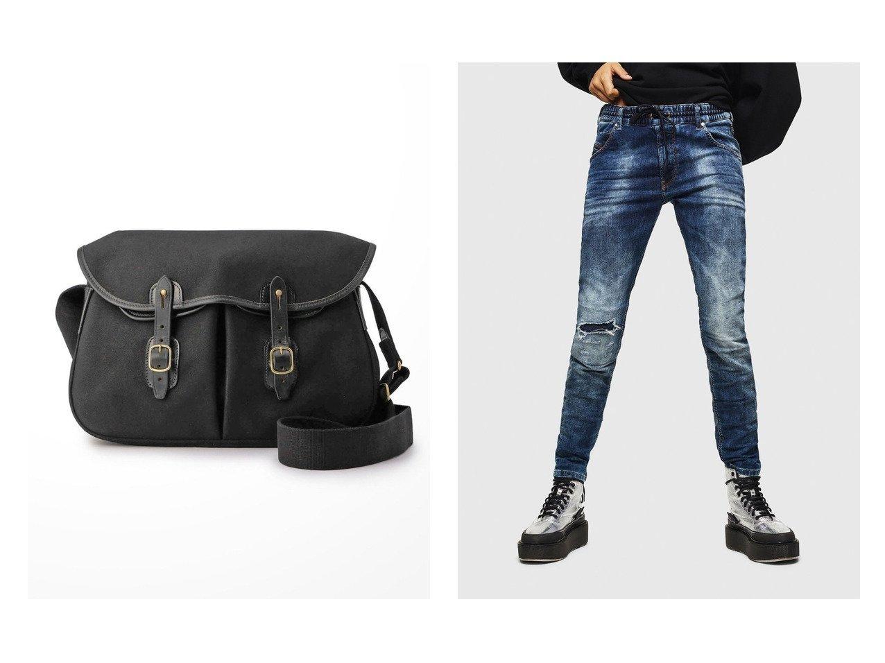 【DIESEL/ディーゼル】のKrailey JoggJeans 069AA&【Bshop/ビショップ】の【Brady】ARIEL TROUT LARGE おすすめ!人気、トレンド・レディースファッションの通販 おすすめで人気の流行・トレンド、ファッションの通販商品 インテリア・家具・メンズファッション・キッズファッション・レディースファッション・服の通販 founy(ファニー) https://founy.com/ ファッション Fashion レディースファッション WOMEN パンツ Pants ダブル フラップ ポケット 定番 Standard おすすめ Recommend ジーンズ テーパード フィット プレーン |ID:crp329100000047989