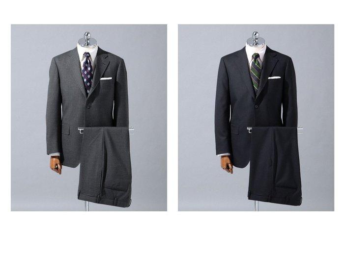 【J.PRESS / MEN/ジェイ プレス】の【BASIC】ペピンメリノトロピカル スーツ 【MEN】おすすめ!人気トレンド・男性、メンズファッションの通販 おすすめ人気トレンドファッション通販アイテム インテリア・キッズ・メンズ・レディースファッション・服の通販 founy(ファニー) https://founy.com/ ファッション Fashion メンズファッション MEN セットアップ Setup/Men スーツ セットアップ 定番 Standard バランス ボックス 送料無料 Free Shipping おすすめ Recommend |ID:crp329100000048030