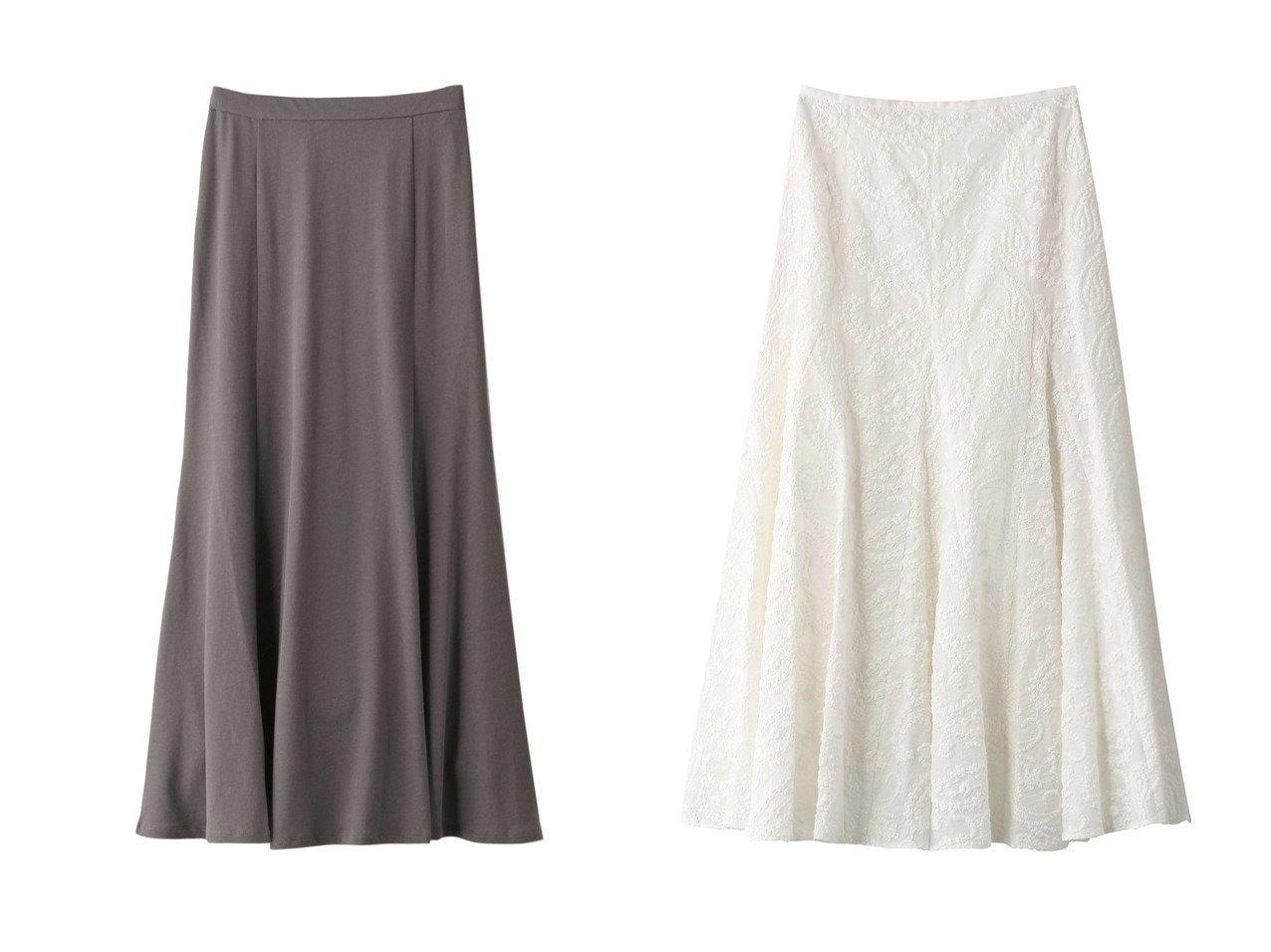 【JET/ジェット】の【JET LOSANGELES】コットンフレアスカート&【ANAYI/アナイ】のペイズリーエンブロイダリースカート 【スカート】おすすめ!人気、トレンド・レディースファッションの通販 おすすめで人気の流行・トレンド、ファッションの通販商品 インテリア・家具・メンズファッション・キッズファッション・レディースファッション・服の通販 founy(ファニー) https://founy.com/ ファッション Fashion レディースファッション WOMEN スカート Skirt Aライン/フレアスカート Flared A-Line Skirts S/S・春夏 SS・Spring/Summer パーティ ペイズリー ロング 夏 Summer 春 Spring ガーリー スリム フレア ベーシック  ID:crp329100000048105