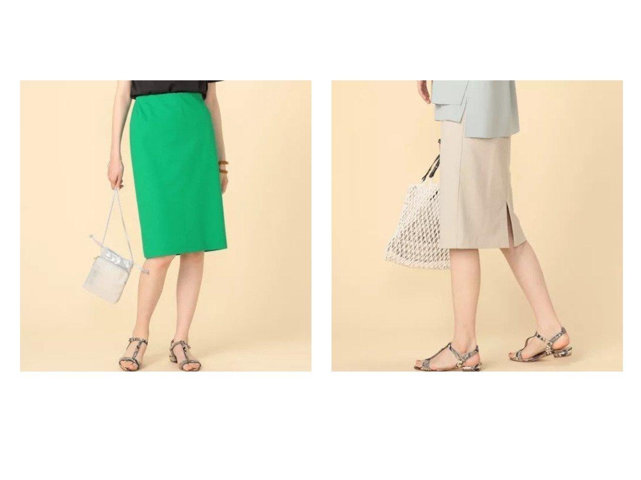 【NOLLEY'S sophi/ノーリーズソフィー】のリネンライクジャージタイトスカート 【スカート】おすすめ!人気、トレンド・レディースファッションの通販 おすすめで人気の流行・トレンド、ファッションの通販商品 インテリア・家具・メンズファッション・キッズファッション・レディースファッション・服の通販 founy(ファニー) https://founy.com/ ファッション Fashion レディースファッション WOMEN スカート Skirt シンプル ジャージ ベーシック リネン  ID:crp329100000048119