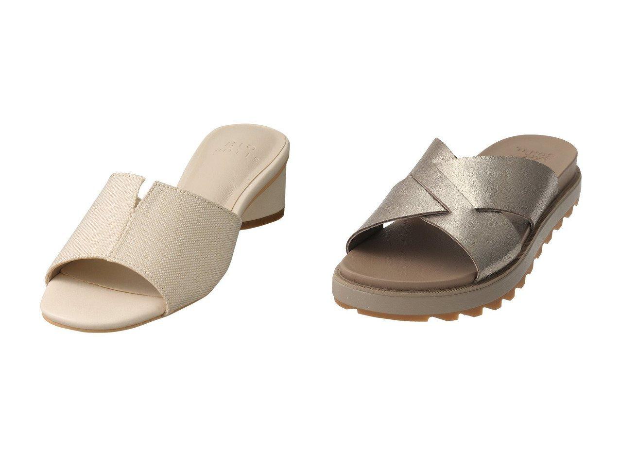 【Esmeralda/エスメラルダ】の【MIO NOTIS】シリンダーヒールミュール&【SOREL/ソレル】のローミングクリスクロススライド/サンダル 【シューズ・靴】おすすめ!人気、トレンド・レディースファッションの通販 おすすめで人気の流行・トレンド、ファッションの通販商品 インテリア・家具・メンズファッション・キッズファッション・レディースファッション・服の通販 founy(ファニー) https://founy.com/ ファッション Fashion レディースファッション WOMEN サンダル スリット ミュール インソール シンプル 夏 Summer 定番 Standard  ID:crp329100000048140