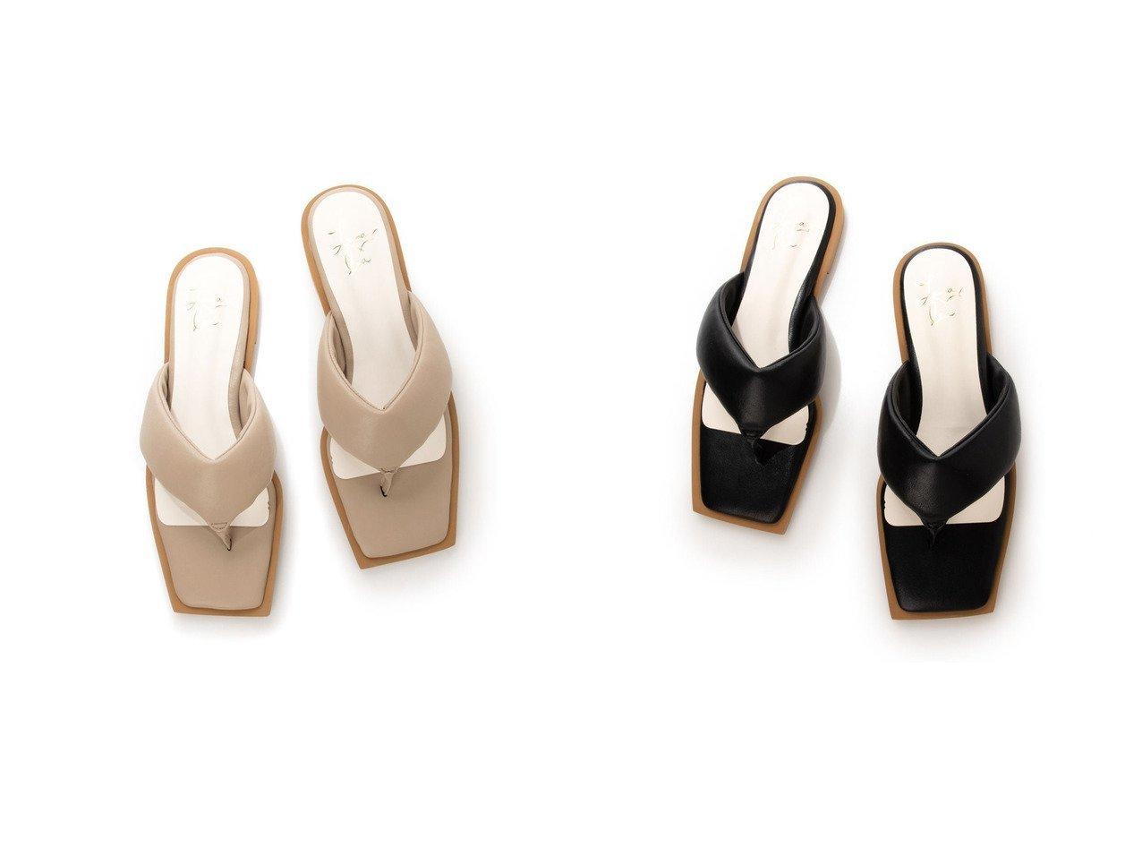 【Launa lea/ラウナレア】のスクエアトゥトングサンダル 【シューズ・靴】おすすめ!人気、トレンド・レディースファッションの通販 おすすめで人気の流行・トレンド、ファッションの通販商品 インテリア・家具・メンズファッション・キッズファッション・レディースファッション・服の通販 founy(ファニー) https://founy.com/ ファッション Fashion レディースファッション WOMEN インソール 春 Spring クッション 抗菌 サンダル トレンド メッシュ リラックス 2021年 2021 S/S・春夏 SS・Spring/Summer 2021春夏・S/S SS/Spring/Summer/2021 夏 Summer  ID:crp329100000048147