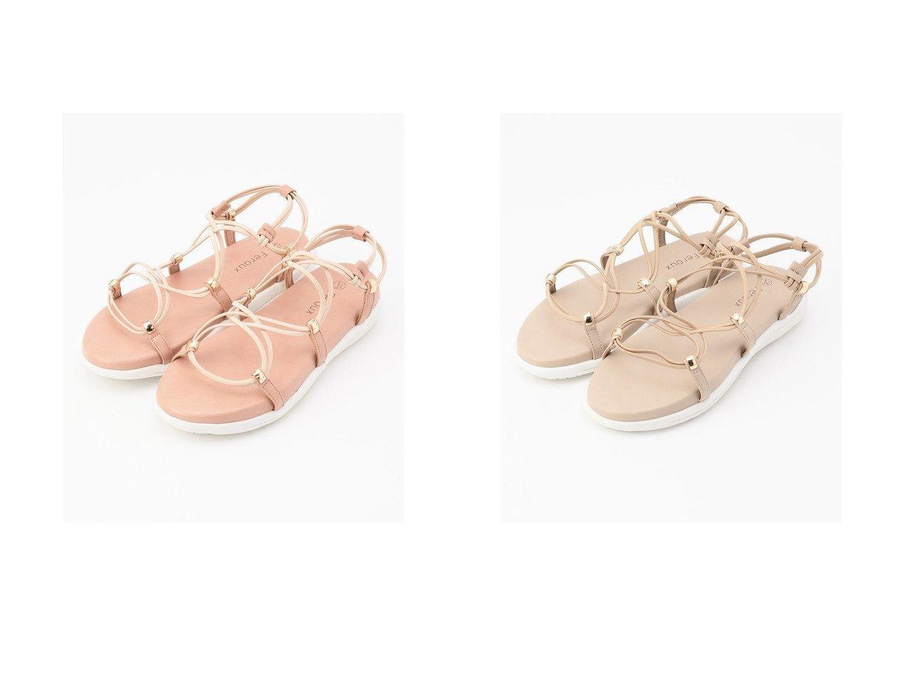【Feroux/フェルゥ】のFeroux メタルゴムラインスポーツ サンダル 【シューズ・靴】おすすめ!人気、トレンド・レディースファッションの通販 おすすめで人気の流行・トレンド、ファッションの通販商品 インテリア・家具・メンズファッション・キッズファッション・レディースファッション・服の通販 founy(ファニー) https://founy.com/ ファッション Fashion レディースファッション WOMEN スポーツウェア Sportswear サンダル / ミュール Sandals 2021年 2021 2021春夏・S/S SS/Spring/Summer/2021 S/S・春夏 SS・Spring/Summer サンダル フェイクレザー フェミニン メタル 夏 Summer 春 Spring 軽量  ID:crp329100000048149
