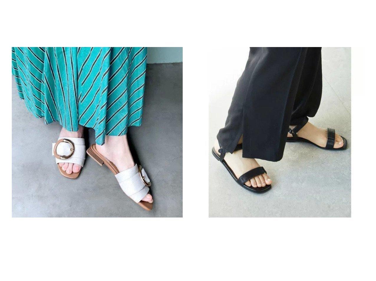 【enchanted/エンチャンテッド】のビックバックルハンプミュールサンダル&【GALLARDAGALANTE/ガリャルダガランテ】のサテンベルクロサンダル 【シューズ・靴】おすすめ!人気、トレンド・レディースファッションの通販 おすすめで人気の流行・トレンド、ファッションの通販商品 インテリア・家具・メンズファッション・キッズファッション・レディースファッション・服の通販 founy(ファニー) https://founy.com/ ファッション Fashion レディースファッション WOMEN バッグ Bag サンダル シューズ ベーシック リラックス  ID:crp329100000048155