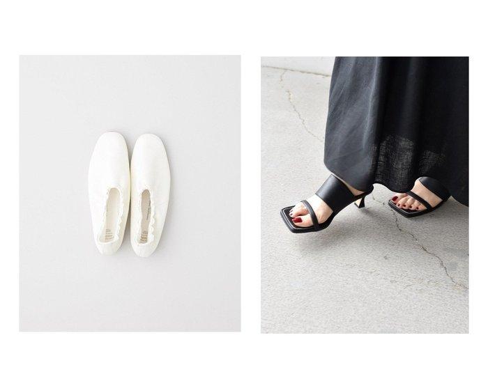 【TWW / Traditional Weatherwear/トラディショナル ウェザーウェア】の【BEAUTIFUL SHOES】BALLET SHOES&【SHIPS/シップス フォー ウィメン】のスクエアヒールサンダル 【シューズ・靴】おすすめ!人気、トレンド・レディースファッションの通販 おすすめ人気トレンドファッション通販アイテム 人気、トレンドファッション・服の通販 founy(ファニー)  ファッション Fashion レディースファッション WOMEN インソール クッション シューズ 人気 バレエ ライニング サンダル トレンド マキシ ミュール ラップ |ID:crp329100000048161