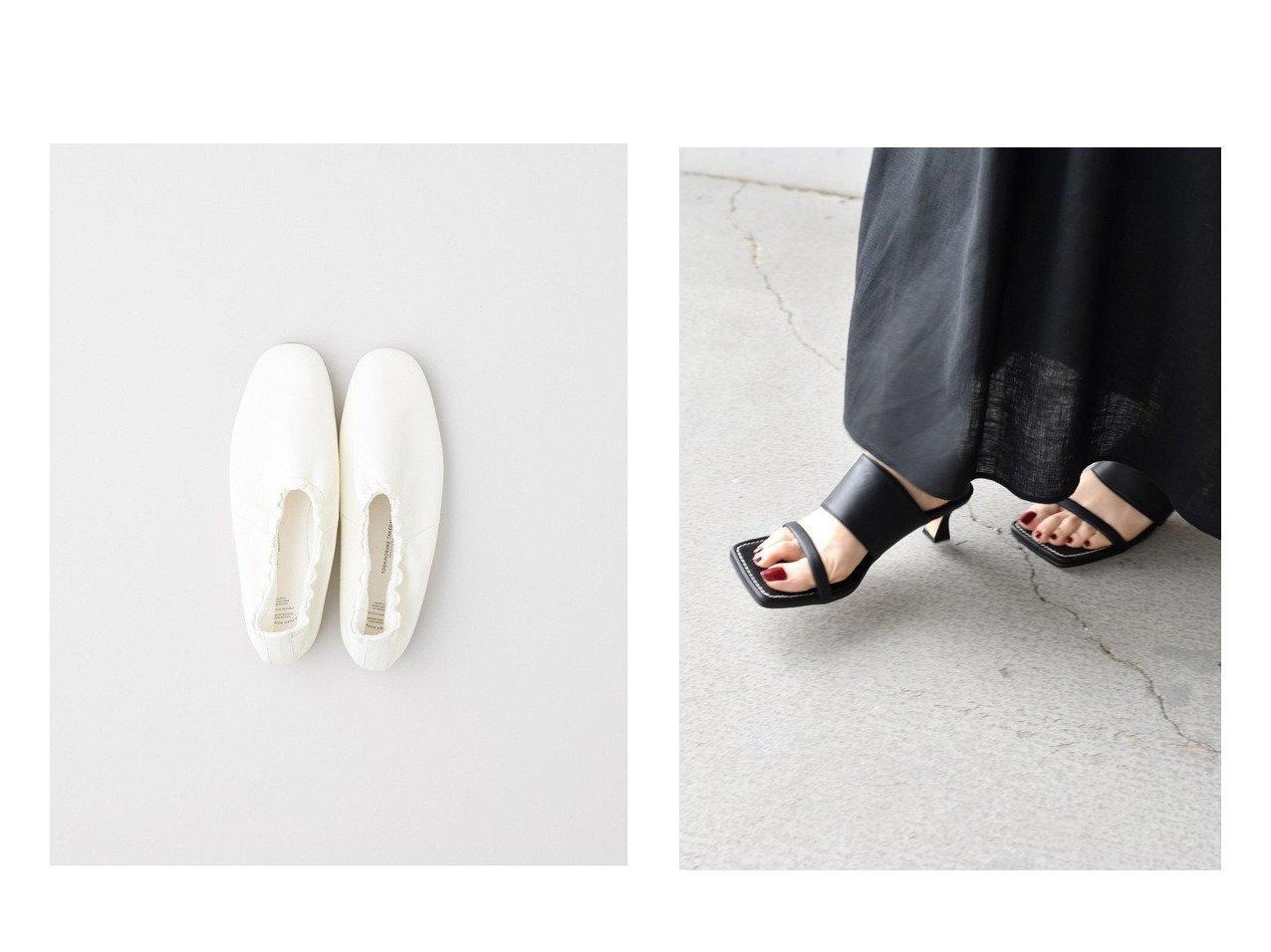 【TWW / Traditional Weatherwear/トラディショナル ウェザーウェア】の【BEAUTIFUL SHOES】BALLET SHOES&【SHIPS/シップス フォー ウィメン】のスクエアヒールサンダル 【シューズ・靴】おすすめ!人気、トレンド・レディースファッションの通販 おすすめで人気の流行・トレンド、ファッションの通販商品 インテリア・家具・メンズファッション・キッズファッション・レディースファッション・服の通販 founy(ファニー) https://founy.com/ ファッション Fashion レディースファッション WOMEN インソール クッション シューズ 人気 バレエ ライニング サンダル トレンド マキシ ミュール ラップ  ID:crp329100000048161