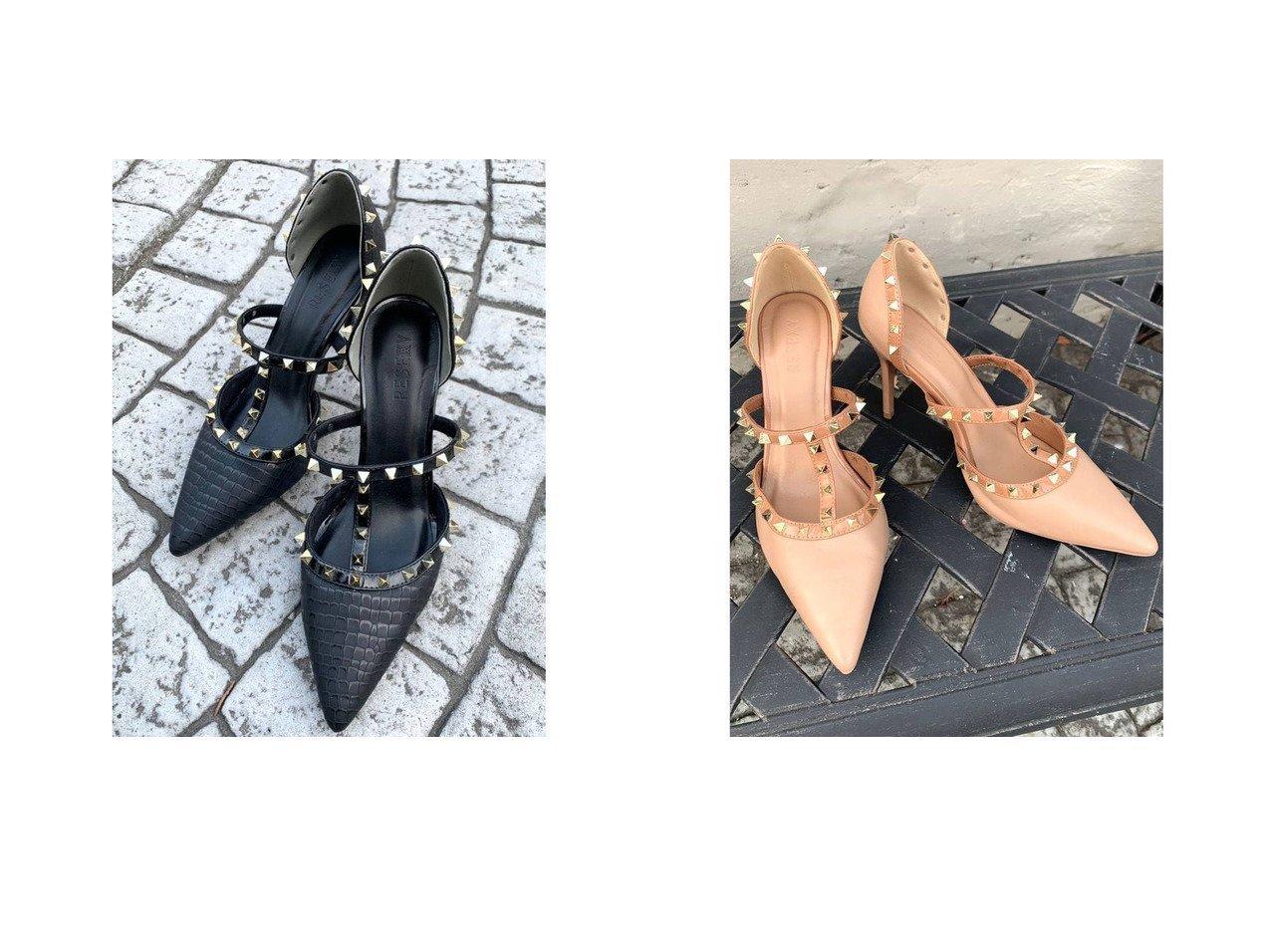 【RESEXXY/リゼクシー】のスタッズピンヒールサンダル 【シューズ・靴】おすすめ!人気、トレンド・レディースファッションの通販 おすすめで人気の流行・トレンド、ファッションの通販商品 インテリア・家具・メンズファッション・キッズファッション・レディースファッション・服の通販 founy(ファニー) https://founy.com/ ファッション Fashion レディースファッション WOMEN シューズ 人気 定番 Standard |ID:crp329100000048168