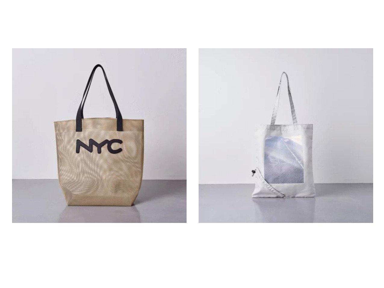 【UNITED ARROWS/ユナイテッドアローズ】のPOCKETABLE BAG-united LOVE project 2021†&メッシュ トートバッグ BEIGE 【バッグ・鞄】おすすめ!人気、トレンド・レディースファッションの通販 おすすめで人気の流行・トレンド、ファッションの通販商品 インテリア・家具・メンズファッション・キッズファッション・レディースファッション・服の通販 founy(ファニー) https://founy.com/ ファッション Fashion レディースファッション WOMEN バッグ Bag S/S・春夏 SS・Spring/Summer ハンド ベーシック メッシュ 夏 Summer 春 Spring コンパクト シューズ 人気 犬 Dog  ID:crp329100000048175
