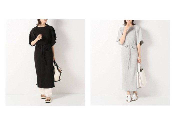 【IENA/イエナ】の【ベースレンジ】CLAIR ワンピース 【ワンピース・ドレス】おすすめ!人気、トレンド・レディースファッションの通販 おすすめ人気トレンドファッション通販アイテム 人気、トレンドファッション・服の通販 founy(ファニー) ファッション Fashion レディースファッション WOMEN ワンピース Dress 2021年 2021 2021春夏・S/S SS/Spring/Summer/2021 S/S・春夏 SS・Spring/Summer アンダー シンプル フランス |ID:crp329100000048214