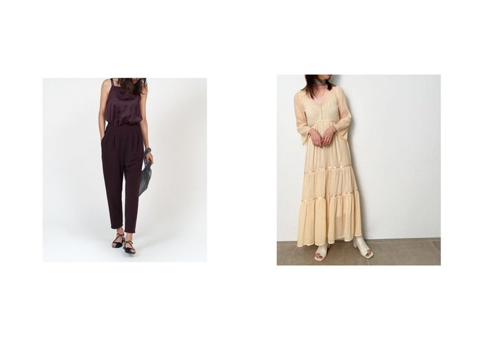 【FRAY I.D/フレイ アイディー】の異素材オールインワン&ヘリンボーンプリーツワンピース 【ワンピース・ドレス】おすすめ!人気、トレンド・レディースファッションの通販 おすすめ人気トレンドファッション通販アイテム 人気、トレンドファッション・服の通販 founy(ファニー) ファッション Fashion レディースファッション WOMEN ワンピース Dress オールインワン ワンピース All In One Dress 洗える キャミソール コンビ ストレッチ スポーティ スマート ドッキング ヨガ リラックス A/W・秋冬 AW・Autumn/Winter・FW・Fall-Winter 2020年 2020 2020-2021秋冬・A/W AW・Autumn/Winter・FW・Fall-Winter/2020-2021 お家時間・ステイホーム Home Time/Stay Home 2021年 2021 2021春夏・S/S SS/Spring/Summer/2021 S/S・春夏 SS・Spring/Summer クラシカル シフォン プリーツ ヘリンボーン 夏 Summer 春 Spring |ID:crp329100000048219