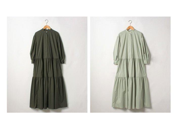 【Theory Luxe/セオリーリュクス】のワンピース SOFT TYPEWRITER EILEEN 【ワンピース・ドレス】おすすめ!人気、トレンド・レディースファッションの通販 おすすめ人気トレンドファッション通販アイテム 人気、トレンドファッション・服の通販 founy(ファニー) ファッション Fashion レディースファッション WOMEN ワンピース Dress NEW・新作・新着・新入荷 New Arrivals サンダル ストレッチ スリット スリーブ タイプライター ティアード ドレス フィット フェミニン ロング |ID:crp329100000048237