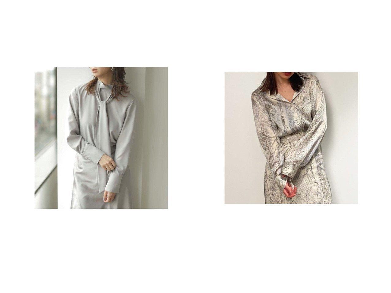 【FRAY I.D/フレイ アイディー】のビックシルエット柄シャツ&ボウタイ付きチュニックブラウス 【トップス・カットソー】おすすめ!人気、トレンド・レディースファッションの通販 おすすめで人気の流行・トレンド、ファッションの通販商品 インテリア・家具・メンズファッション・キッズファッション・レディースファッション・服の通販 founy(ファニー) https://founy.com/ ファッション Fashion レディースファッション WOMEN トップス・カットソー Tops/Tshirt シャツ/ブラウス Shirts/Blouses 春 Spring スマート スリット とろみ チュニック ドレープ 2021年 2021 S/S・春夏 SS・Spring/Summer 2021春夏・S/S SS/Spring/Summer/2021 夏 Summer サテン トレンド パイソン ビッグ ボトム 羽織 |ID:crp329100000048310