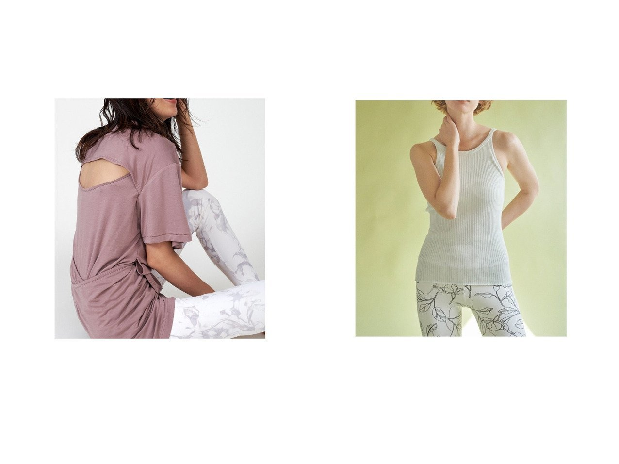 【emmi/エミ】の【emmi yoga】カップ付きサステナブルニットキャミ&【FRAY I.D/フレイ アイディー】のFRAY I.Dxemmi Tシャツ 【トップス・カットソー】おすすめ!人気、トレンド・レディースファッションの通販 おすすめで人気の流行・トレンド、ファッションの通販商品 インテリア・家具・メンズファッション・キッズファッション・レディースファッション・服の通販 founy(ファニー) https://founy.com/ ファッション Fashion レディースファッション WOMEN トップス・カットソー Tops/Tshirt シャツ/ブラウス Shirts/Blouses ロング / Tシャツ T-Shirts ニット Knit Tops キャミソール / ノースリーブ No Sleeves 洗える カシュクール 吸水 スマート パープル フロント ブラウジング ヨガ レギンス A/W・秋冬 AW・Autumn/Winter・FW・Fall-Winter 2020年 2020 2020-2021秋冬・A/W AW・Autumn/Winter・FW・Fall-Winter/2020-2021 ウォッシャブル 春 Spring キャミソール タンク 2021年 2021 S/S・春夏 SS・Spring/Summer 2021春夏・S/S SS/Spring/Summer/2021 夏 Summer |ID:crp329100000048314