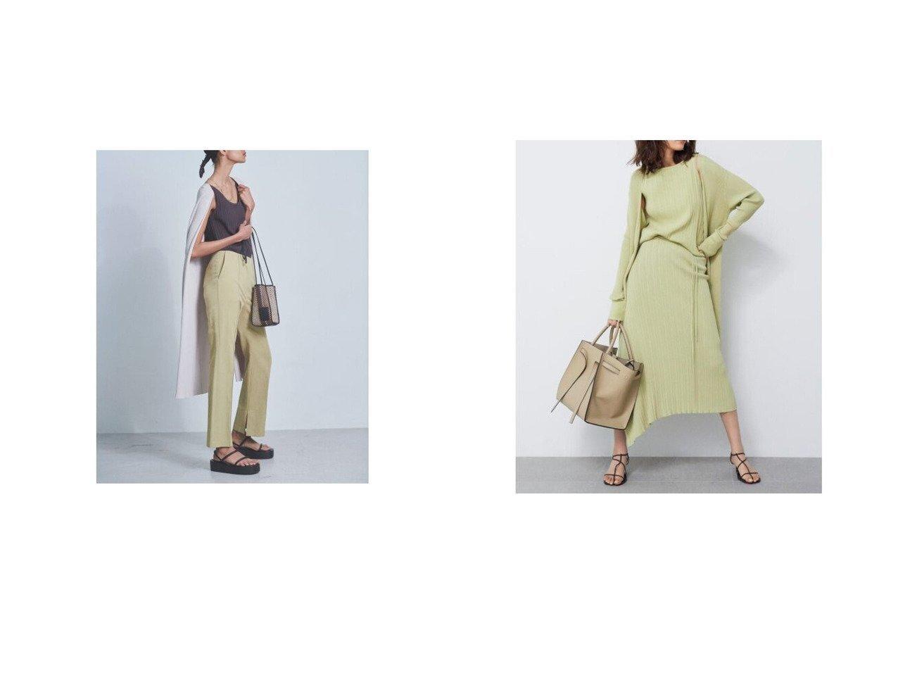 【Mila Owen/ミラオーウェン】の3点setリブニットカーディガン 【トップス・カットソー】おすすめ!人気、トレンド・レディースファッションの通販 おすすめで人気の流行・トレンド、ファッションの通販商品 インテリア・家具・メンズファッション・キッズファッション・レディースファッション・服の通販 founy(ファニー) https://founy.com/ ファッション Fashion レディースファッション WOMEN トップス・カットソー Tops/Tshirt ニット Knit Tops カーディガン Cardigans インナー 春 Spring カーディガン キャミ スマート スリット ロング 2021年 2021 S/S・春夏 SS・Spring/Summer 2021春夏・S/S SS/Spring/Summer/2021 お家時間・ステイホーム Home Time/Stay Home 夏 Summer |ID:crp329100000048319